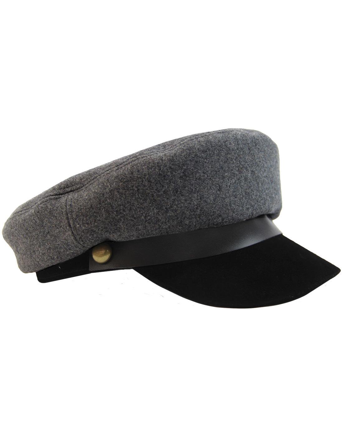 7c8c1d0997232 FAILSWORTH Retro Harris Tweed Womens Bakerboy Cap.  54.00  38.00. madcap  england wild one retro 60s mod military cap