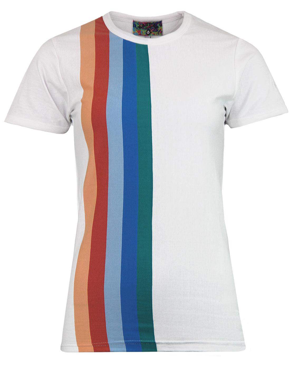 Over The Rainbow Madcap England Retro 70s T-shirt
