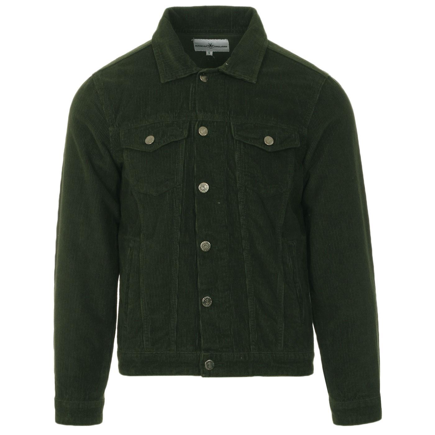 Woburn MADCAP ENGLAND Mod Cord Western Jacket (DF)