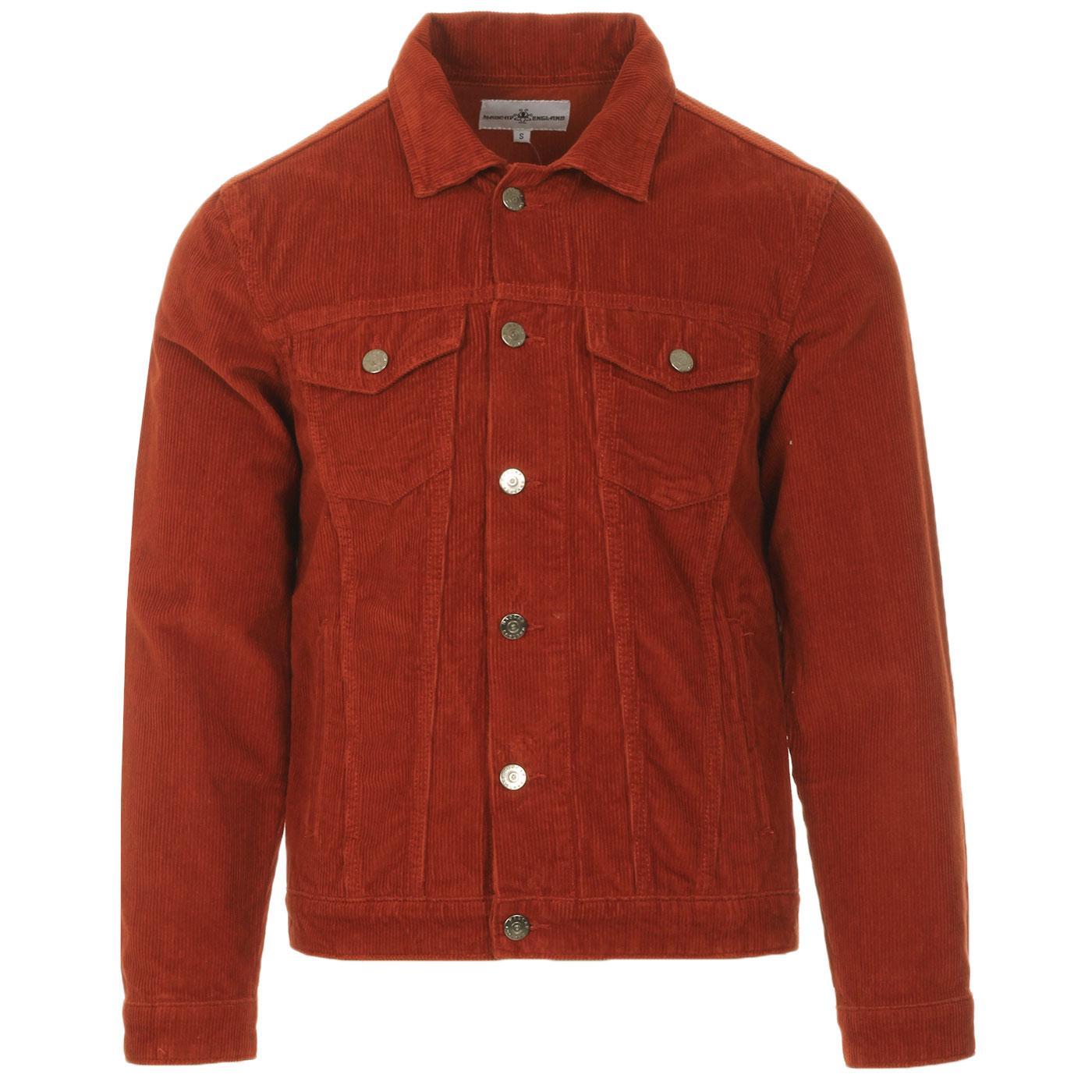 Woburn MADCAP ENGLAND Mod Cord Western Jacket (R)