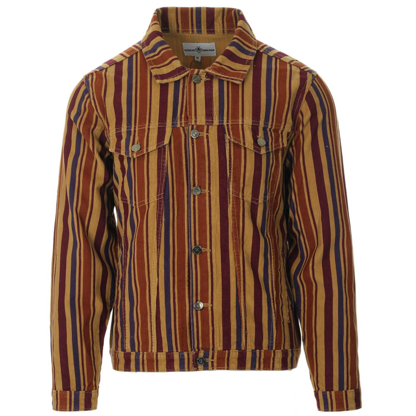 Woburn Stripe MADCAP ENGLAND Cord Trucker Jacket