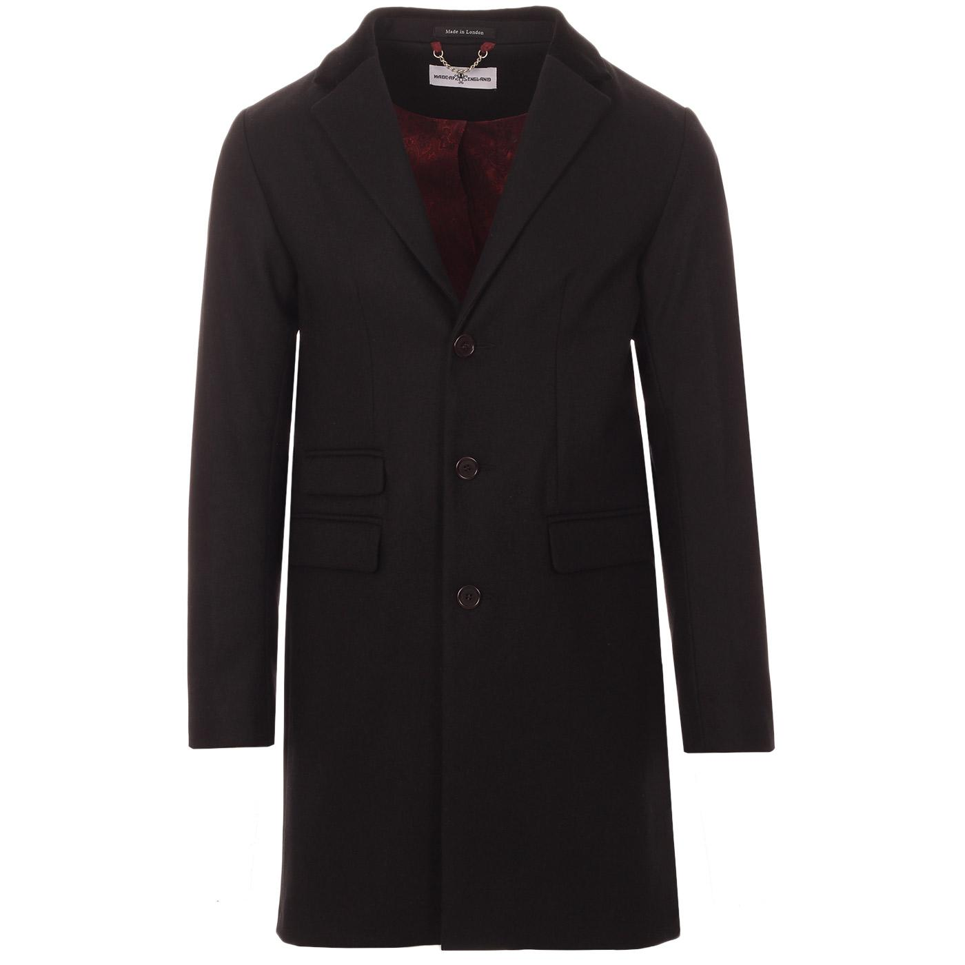 MADCAP ENGLAND Made in England Mod Covert Coat (B)