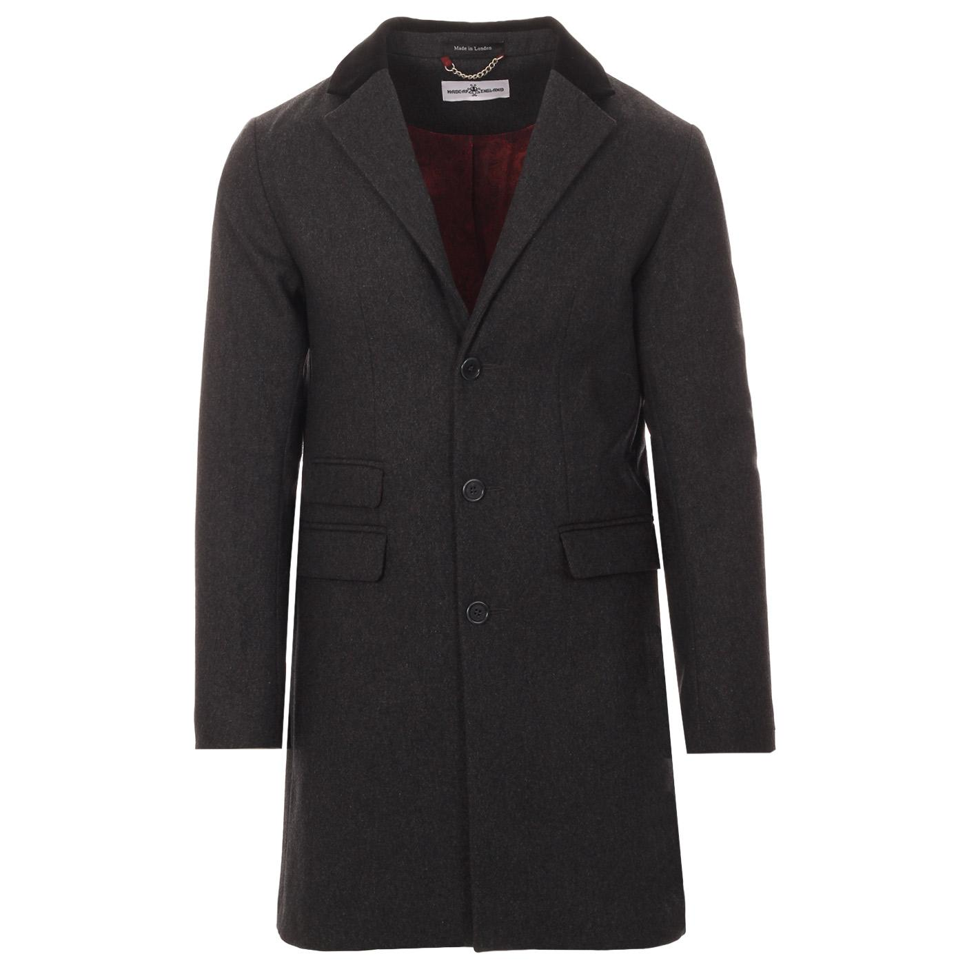 MADCAP ENGLAND Made in England Mod Covert Coat (G)