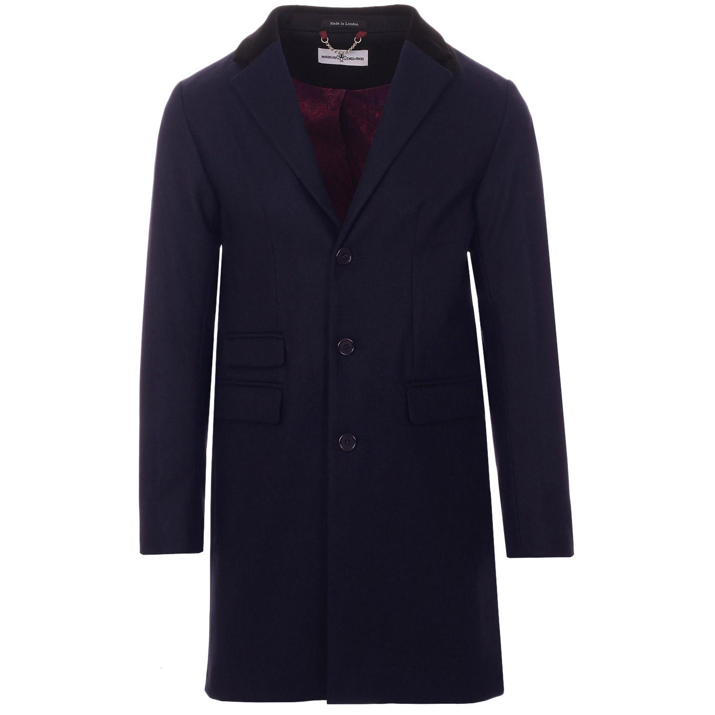 MADCAP ENGLAND Made in England Mod Covert Coat (N)