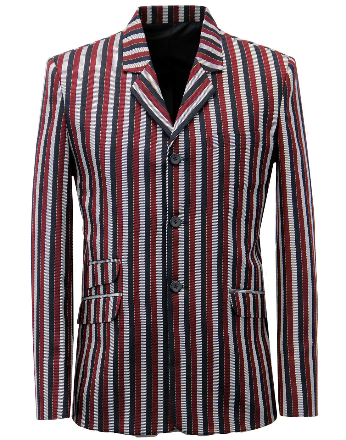 Offbeat MADCAP ENGLAND 1960s Mod Boating Blazer