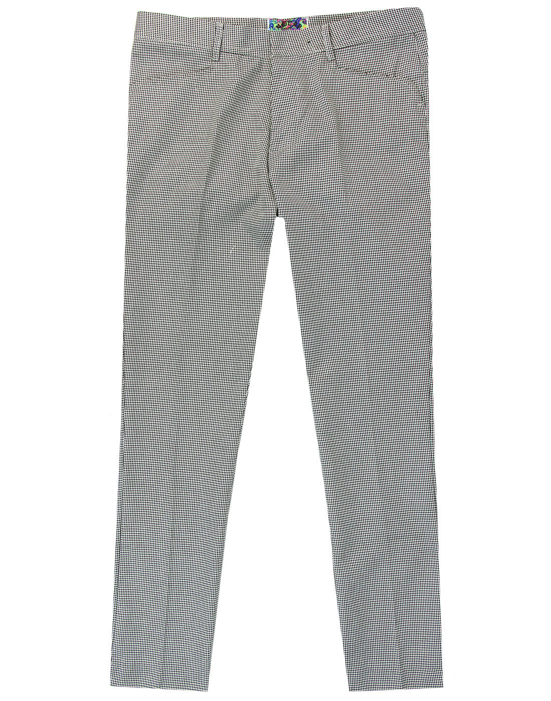 Stoned MADCAP ENGLAND Mod Dogtooth Slim Trousers