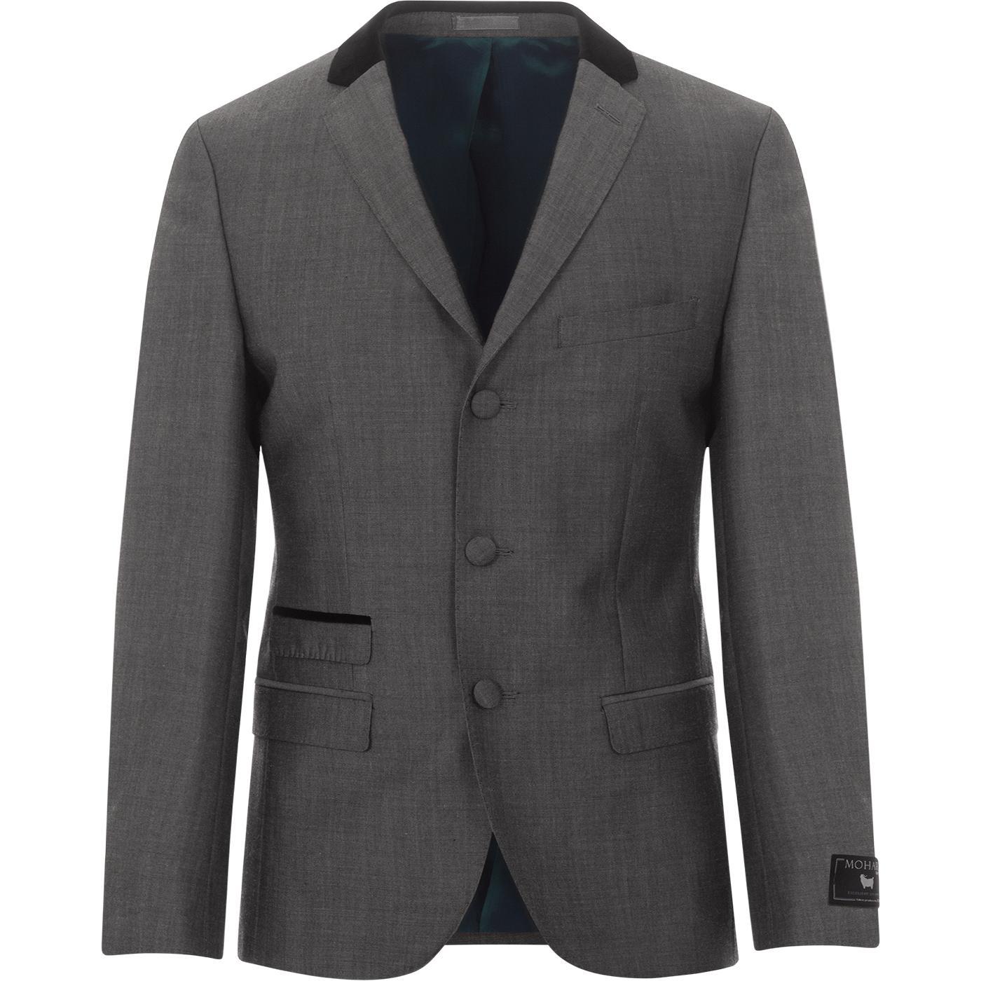 MADCAP ENGLAND Mohair Tonic Velvet Collar Blazer