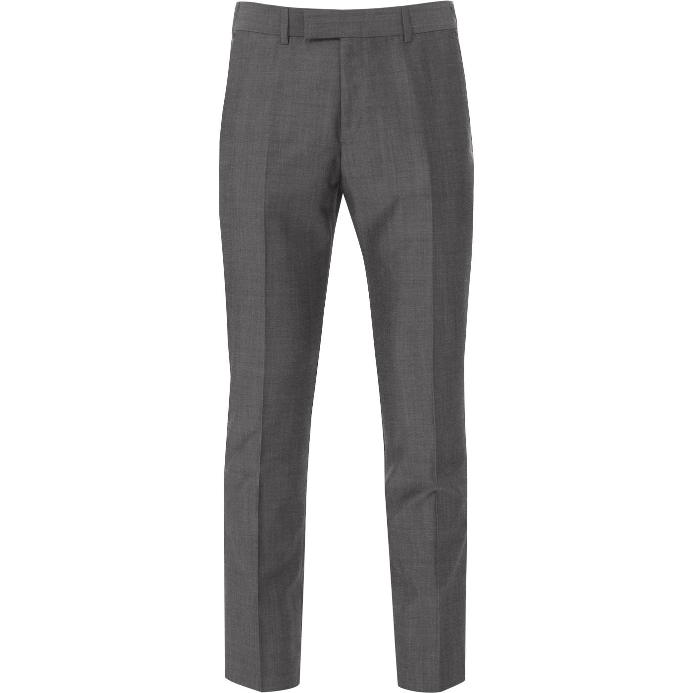 MADCAP ENGLAND Mohair Tonic Suit Trousers (Silver)