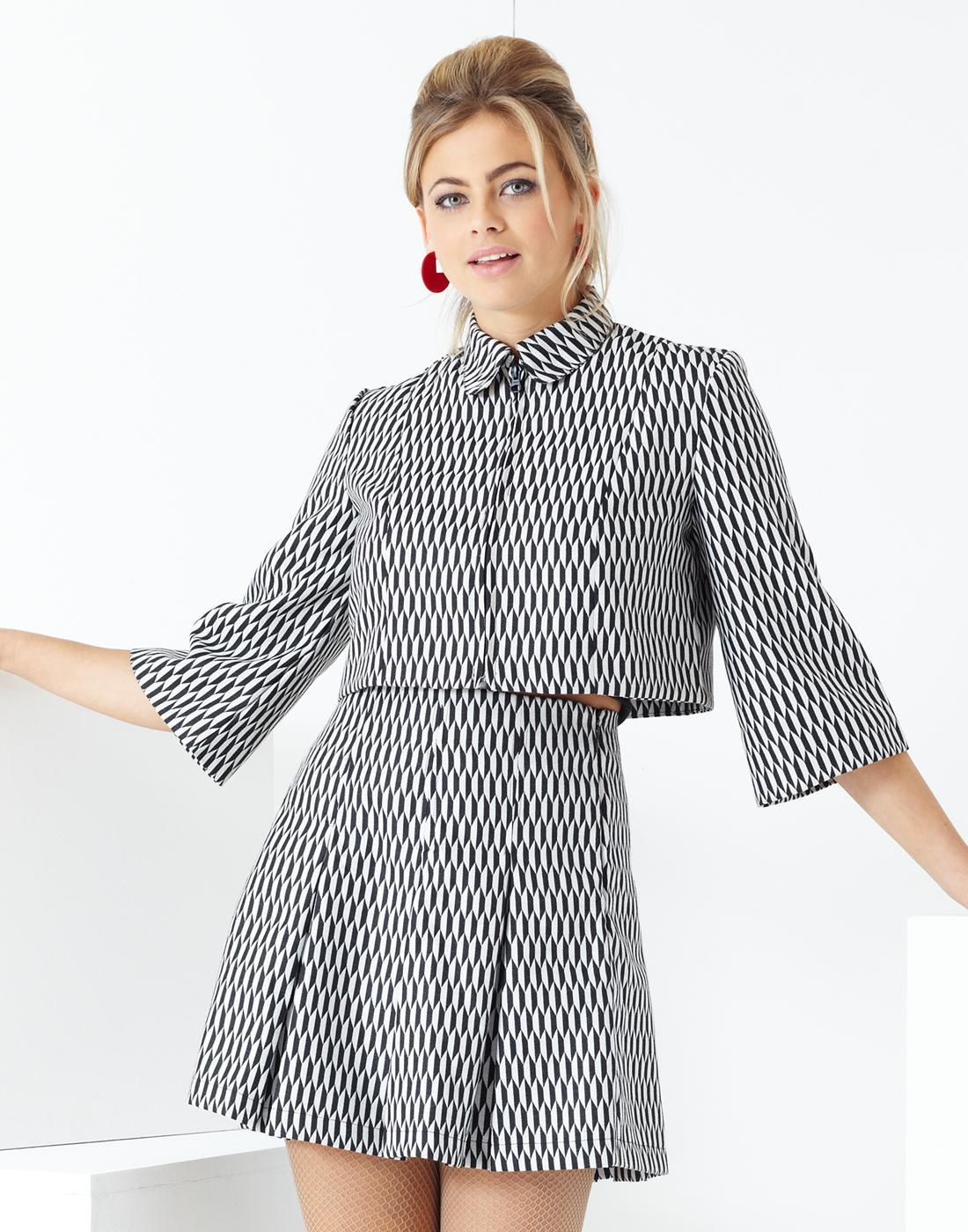 Ace MADCAP ENGLAND Mod Bolero Jacket & Skirt Suit