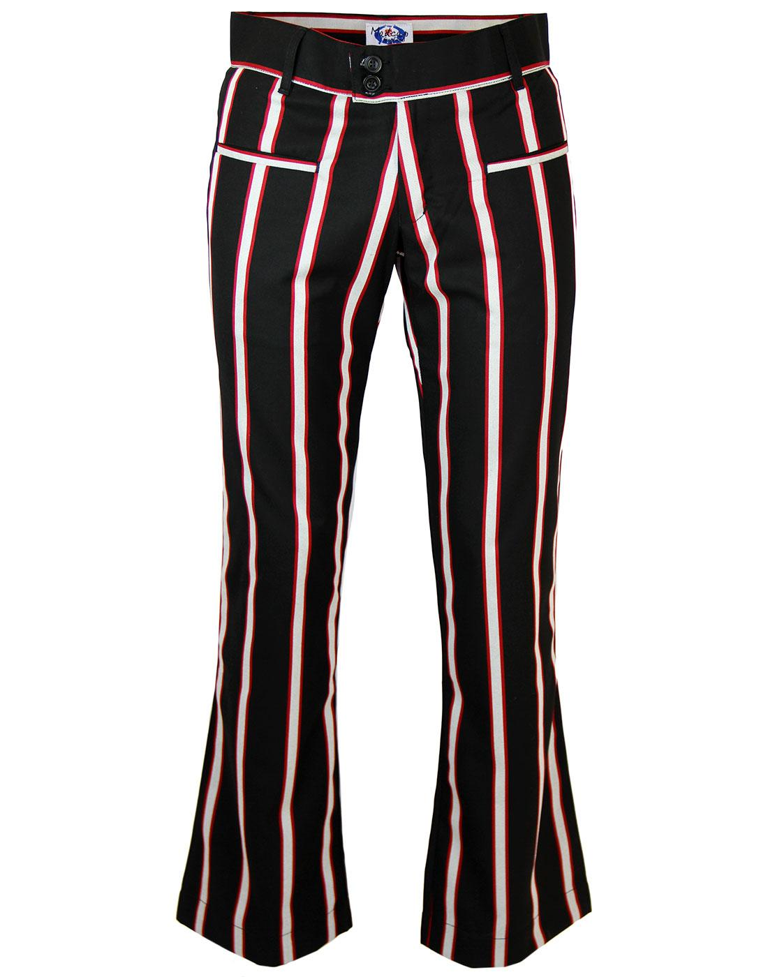 Hapshash MADCAP ENGLAND 60s Mod Bootcut Trousers