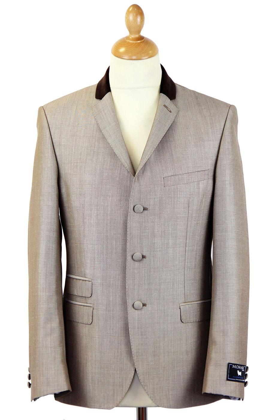 Tailored byMadcap England Mod Mohair Suit Jacket T