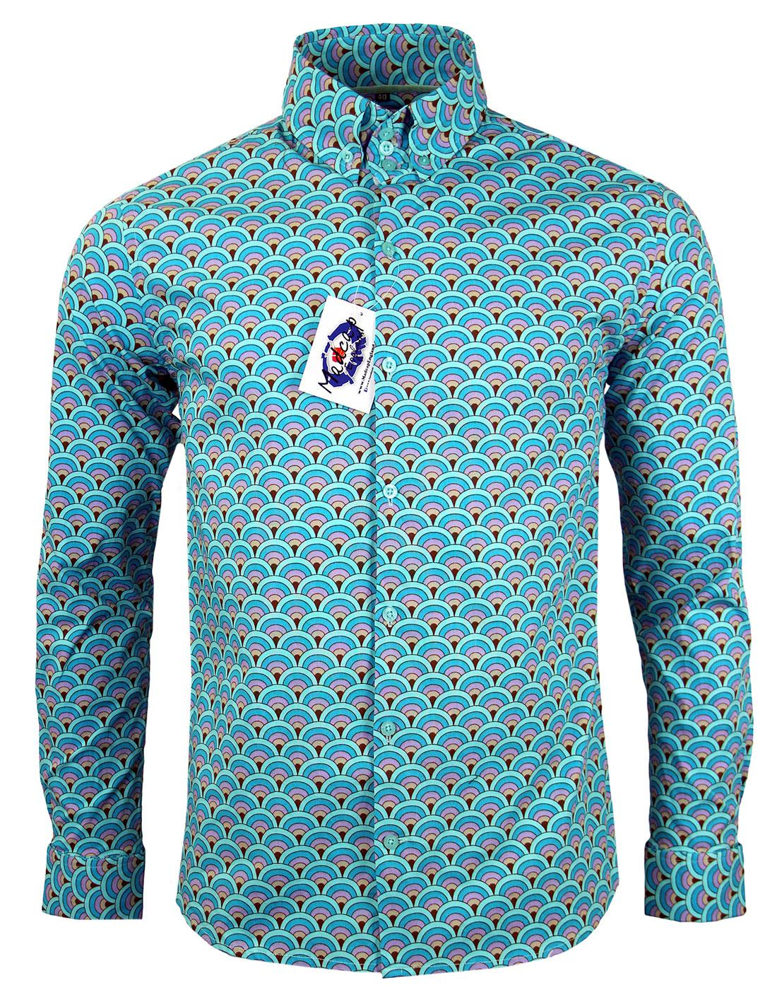 Peacock MADCAP ENGLAND Mod Indie Peacock Fan Shirt