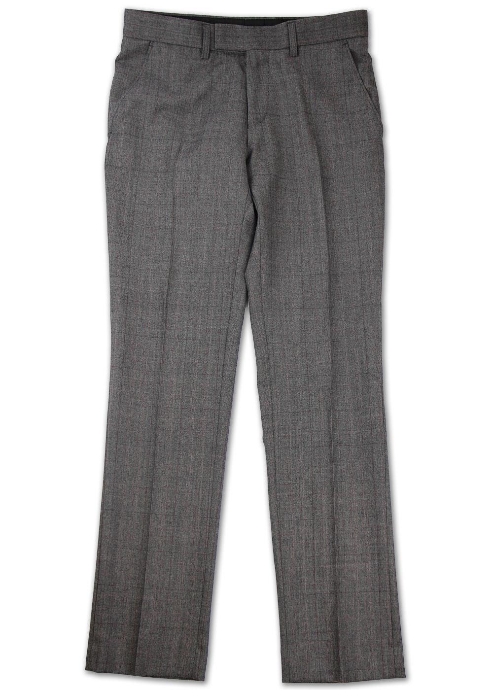 Redford MADCAP ENGLAND Mod Check Suit Trousers