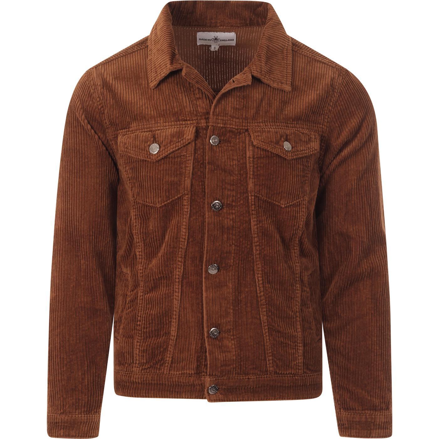 Woburn MADCAP ENGLAND Jumbo Cord Western Jacket T