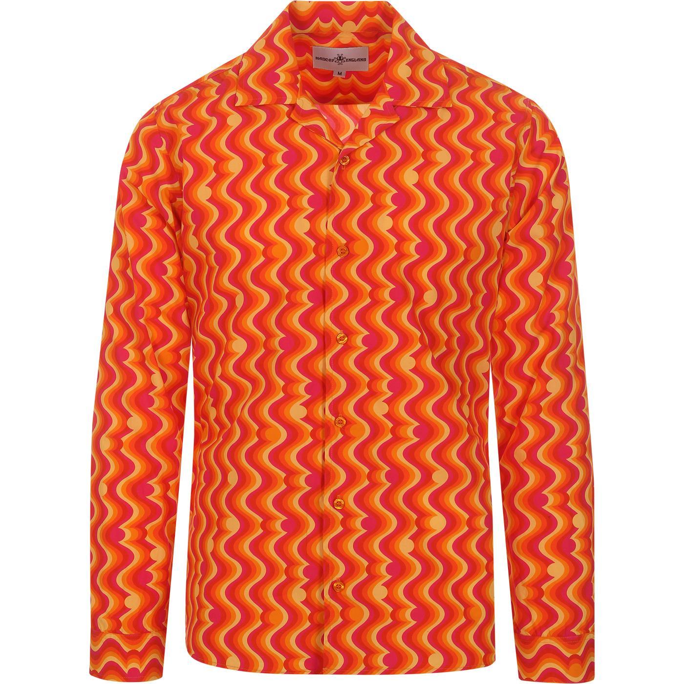 Surfari MADCAP ENGLAND Retro Resort Collar Shirt