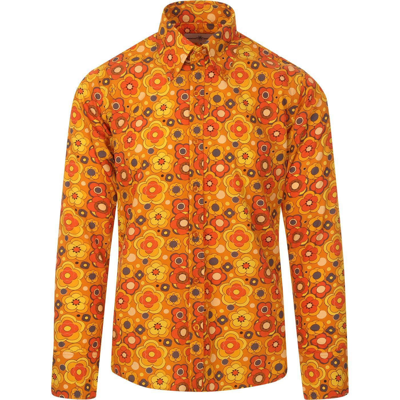 Trip Retro Floral MADCAP ENGLAND 60s Mod Shirt
