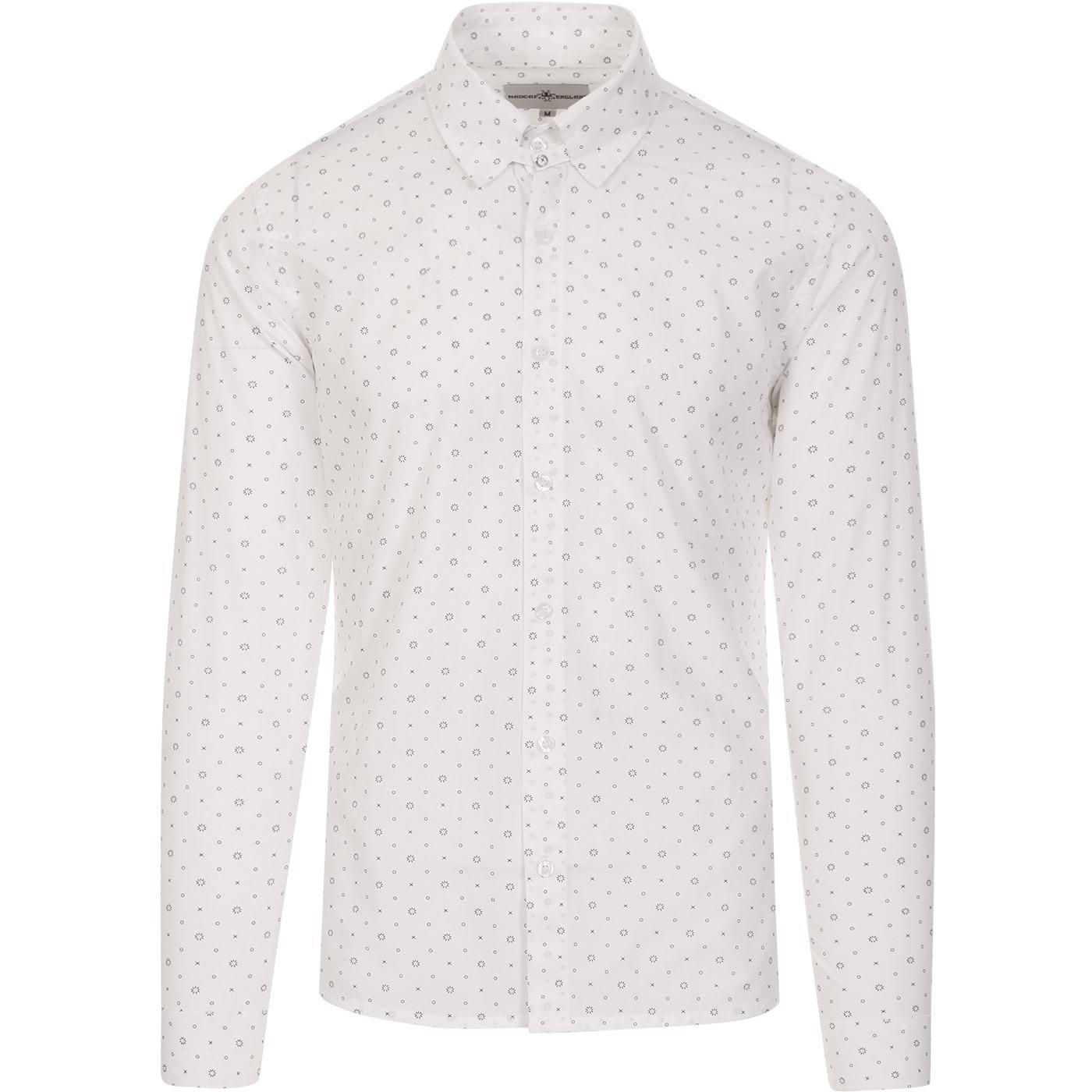 Byron MADCAP ENGLAND 60s Mod Tab Collar Shirt (W)