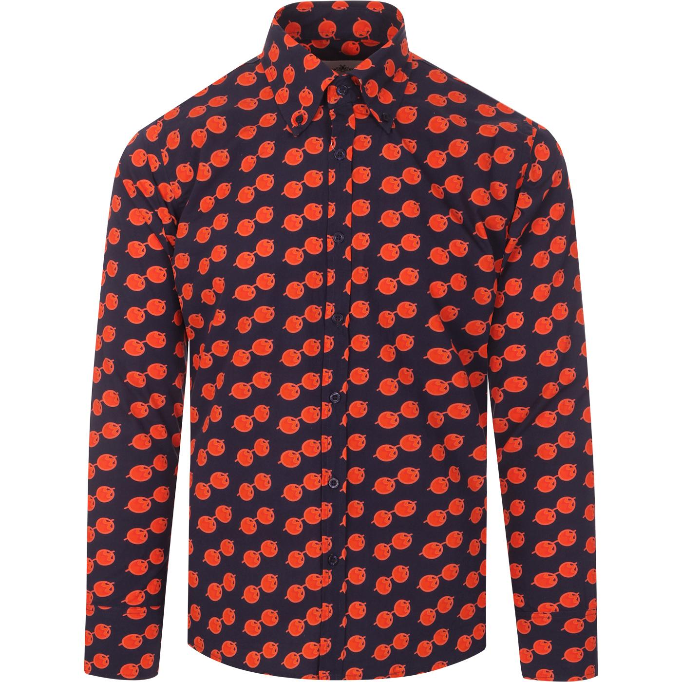 Trip Lennon Glasses MADCAP ENGLAND Retro 60s Shirt