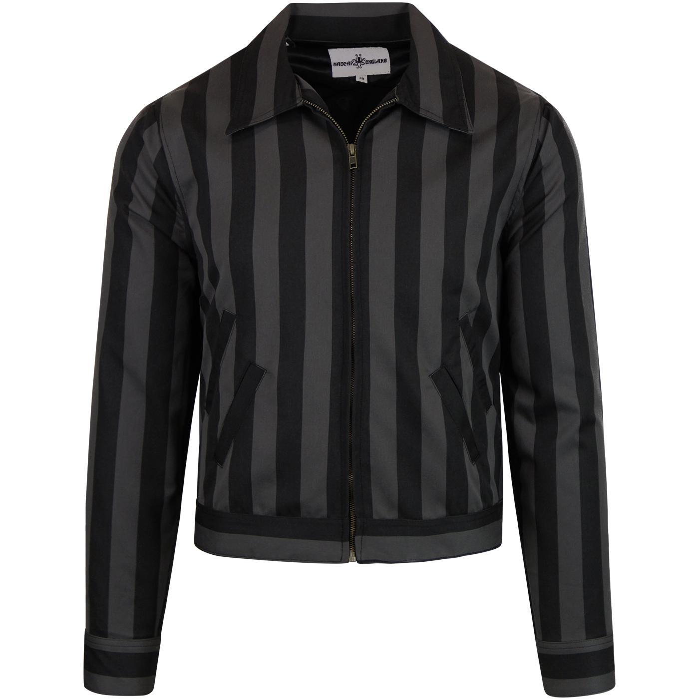 Jailbird MADCAP ENGLAND Mod Stripe Collared Jacket