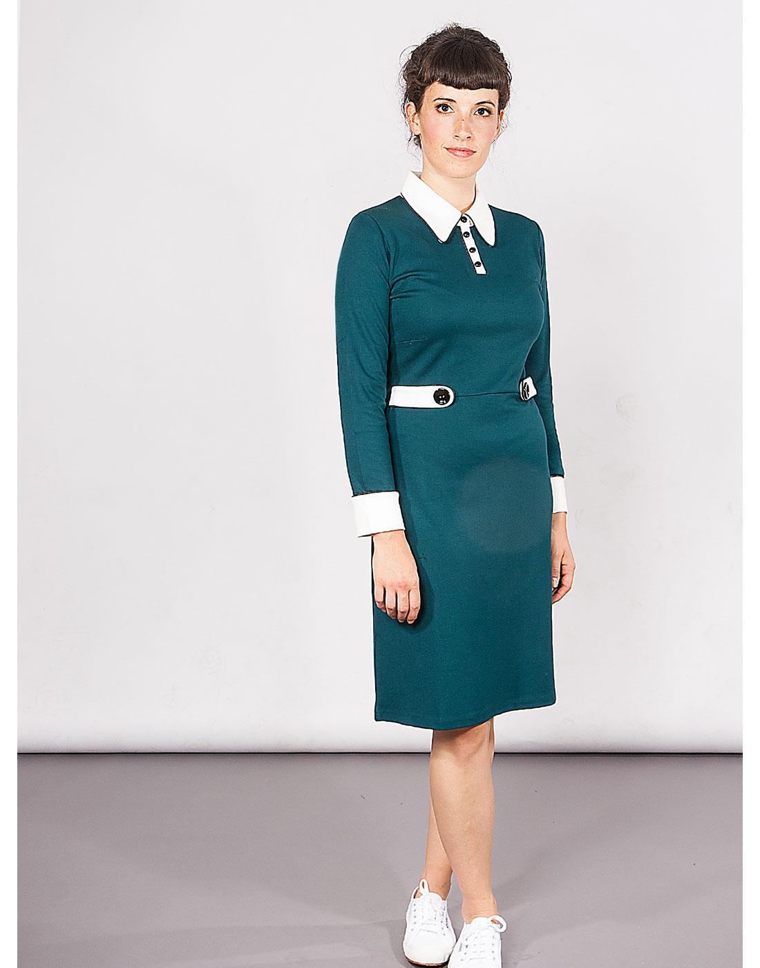 Nathalie MADEMOISELLE YEYE Sixties Mod Polo Dress