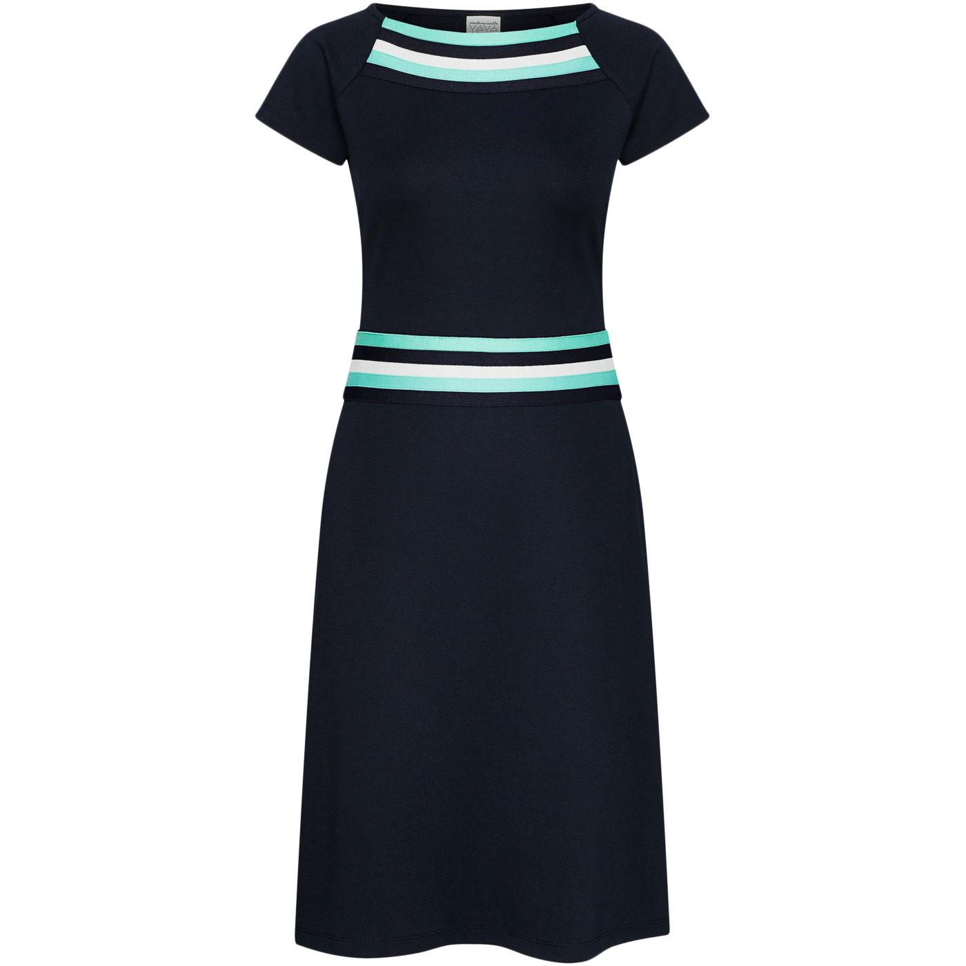 A Trip To Rome MADEMOISELLE YEYE 60s Mod Dress