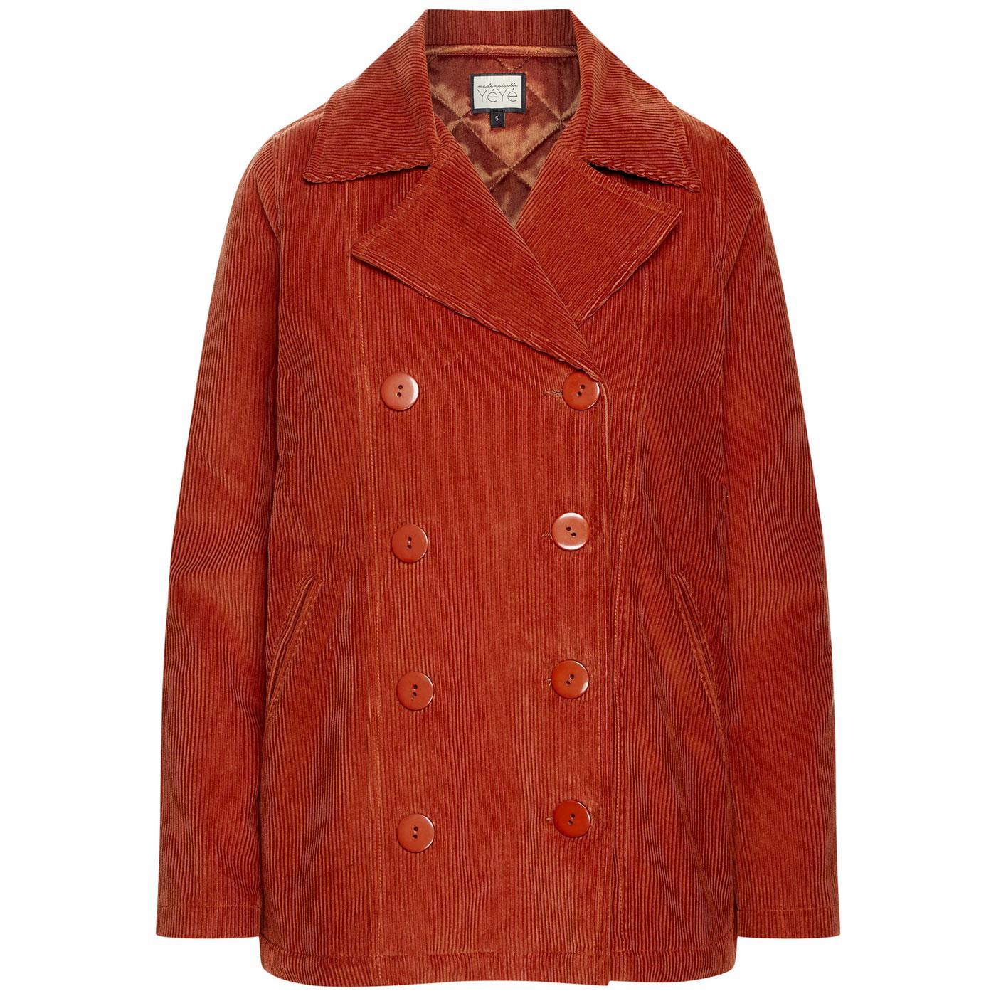All Set MADEMOISELLE YEYE Pea Coat Cord Jacket