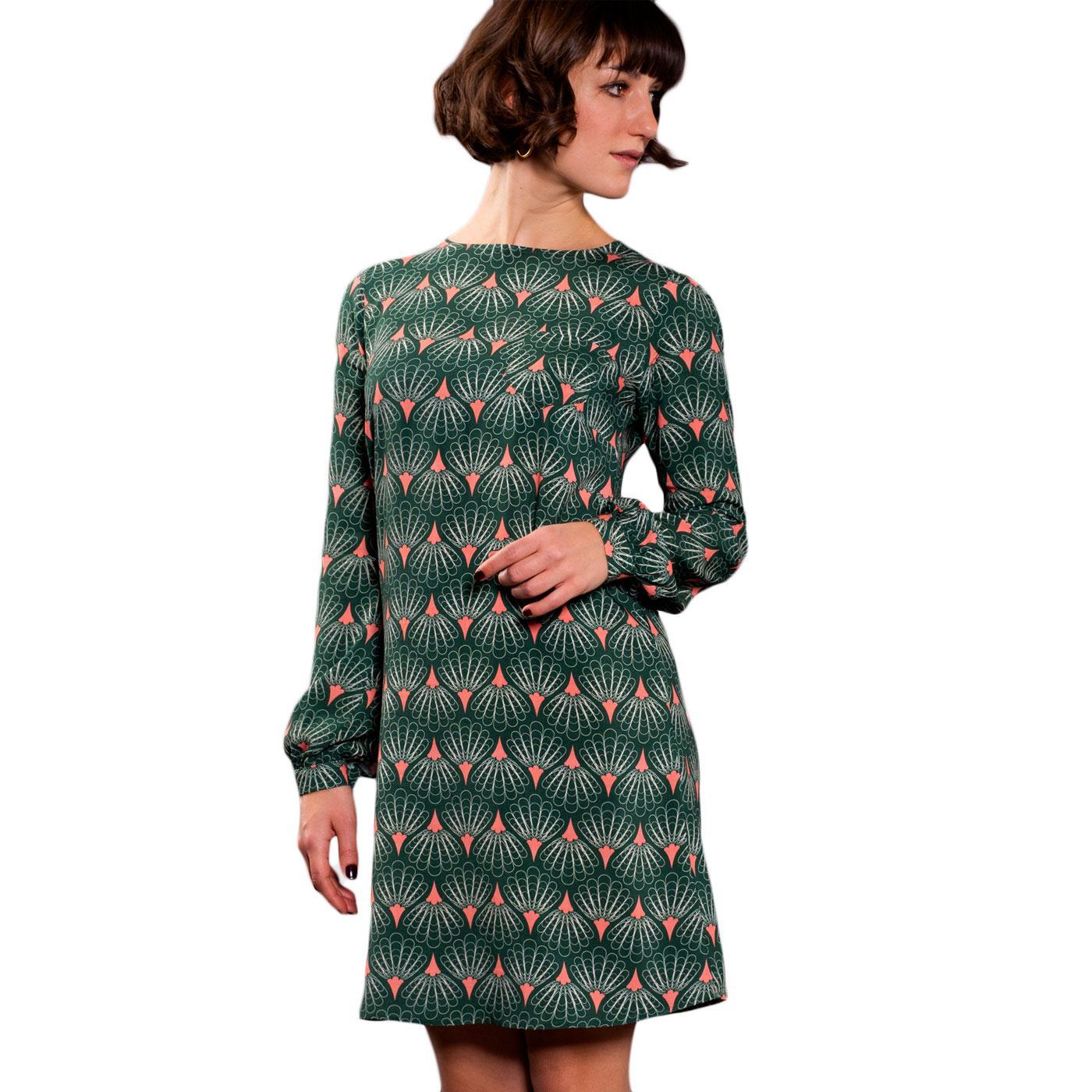 Art Lover MADEMOISELLE YEYE Retro 60s Dress Green