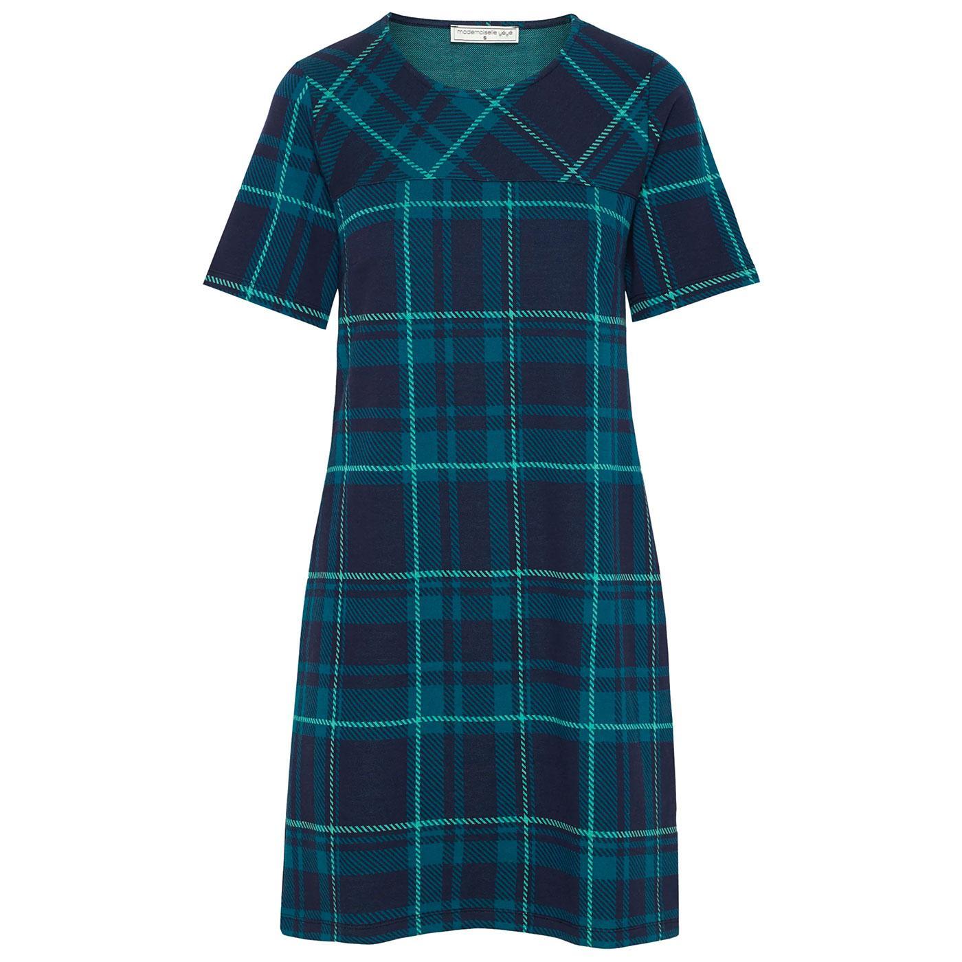 Because Maybe MADEMOISELLE YEYE Tartan Mod Dress