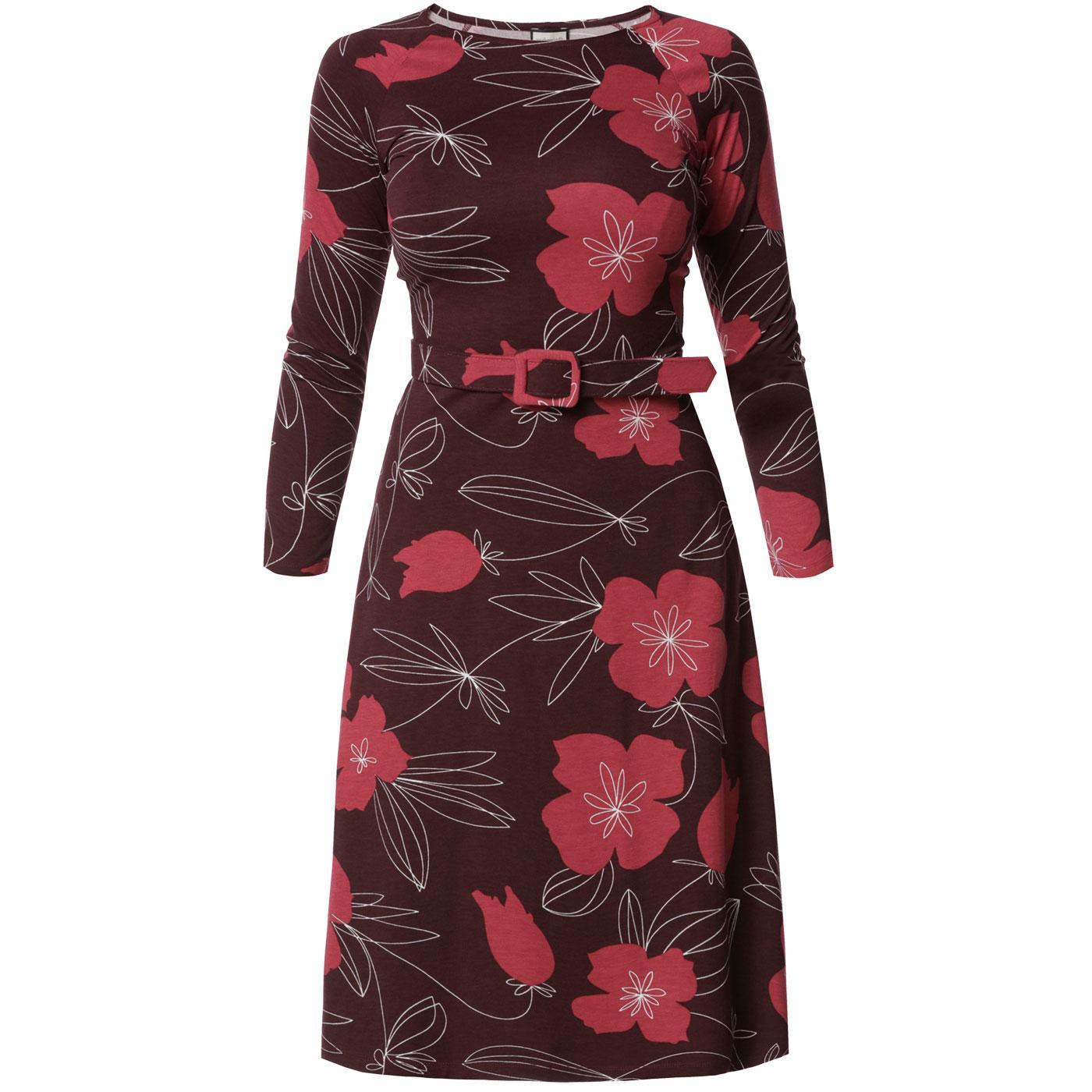 Let The Leaves Dance MADEMOISELLE YEYE 60's Dress