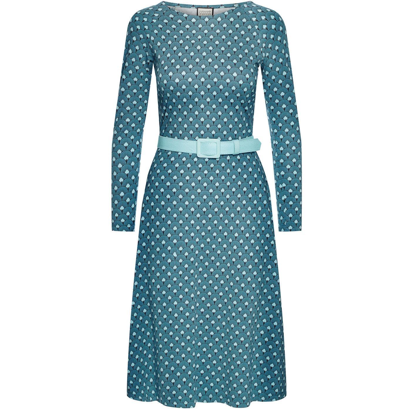 Let The Leaves Dance MADEMOISELLE YEYE 60s Dress