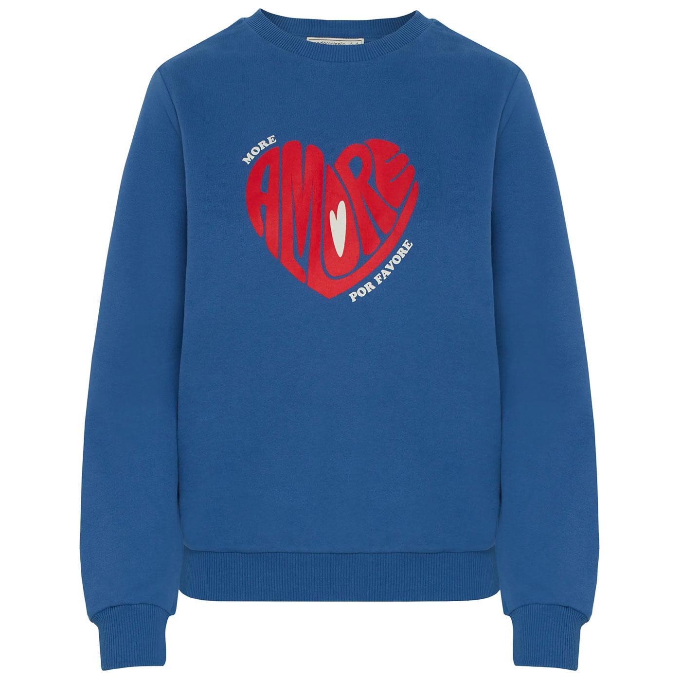 More Amore MADEMOISELLE YEYE Retro Sweatshirt