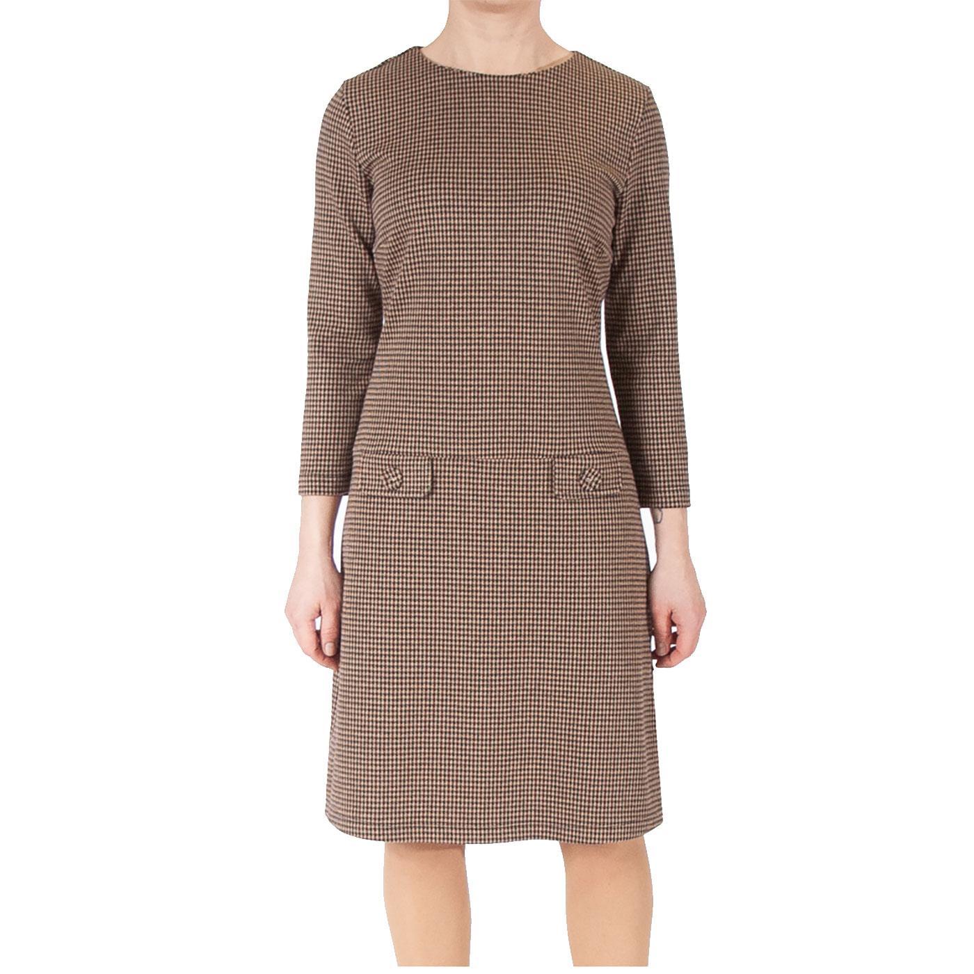 Nine To Five MADEMOISELLE YEYE Dogtooth Mod Dress