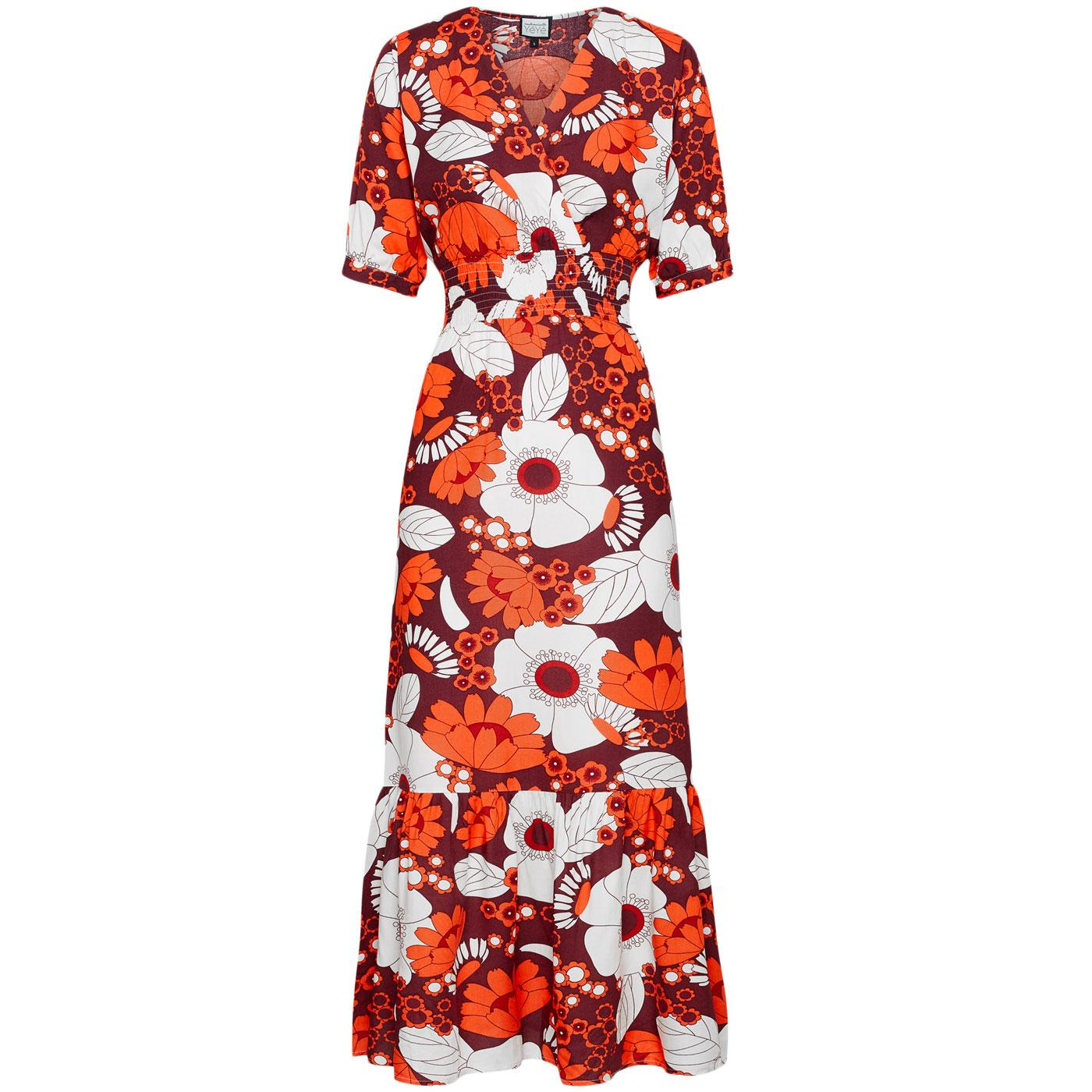 Mademoiselle YeYe Pow! To The People Floral Dress