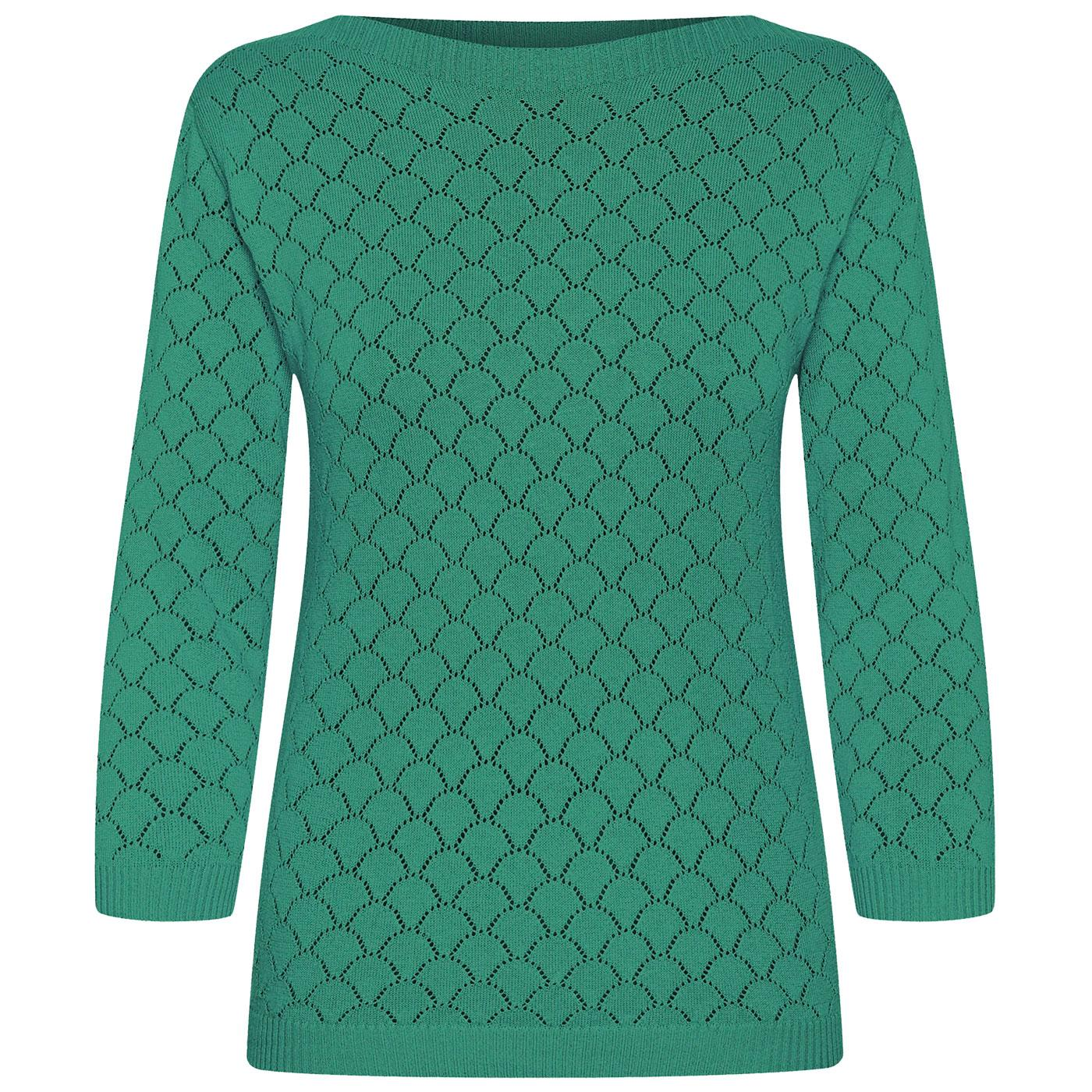 Staying Up MADEMOISELLE YEYE Retro 60s Knit Top G