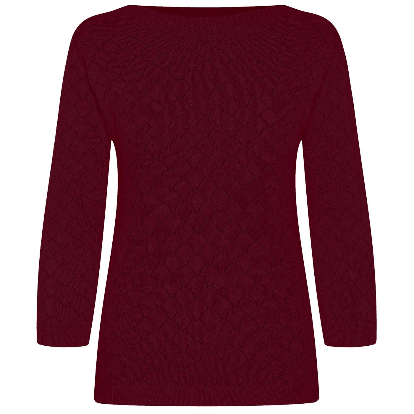 Staying Up MADEMOISELLE YEYE Retro 60s Knit Top W