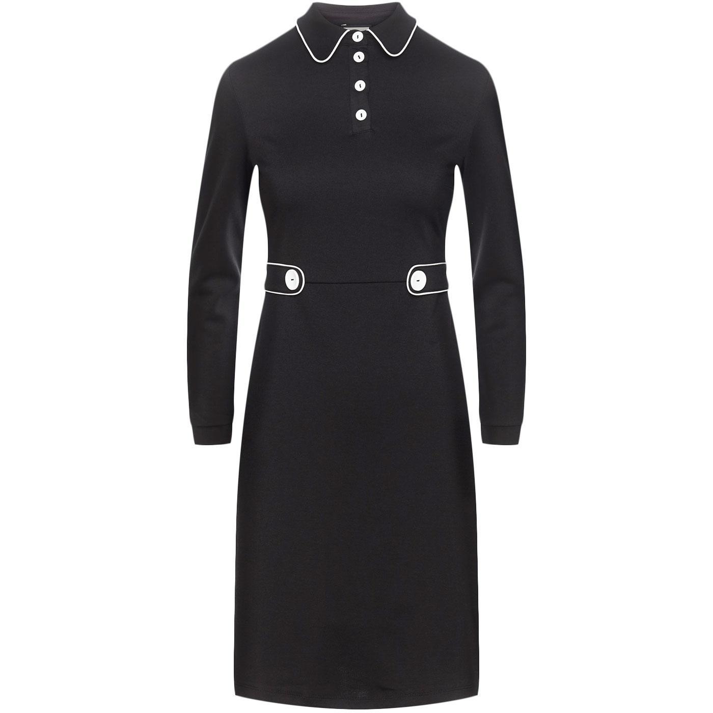 There She Goes MADEMOISELLE YEYE 60s Mod Dress