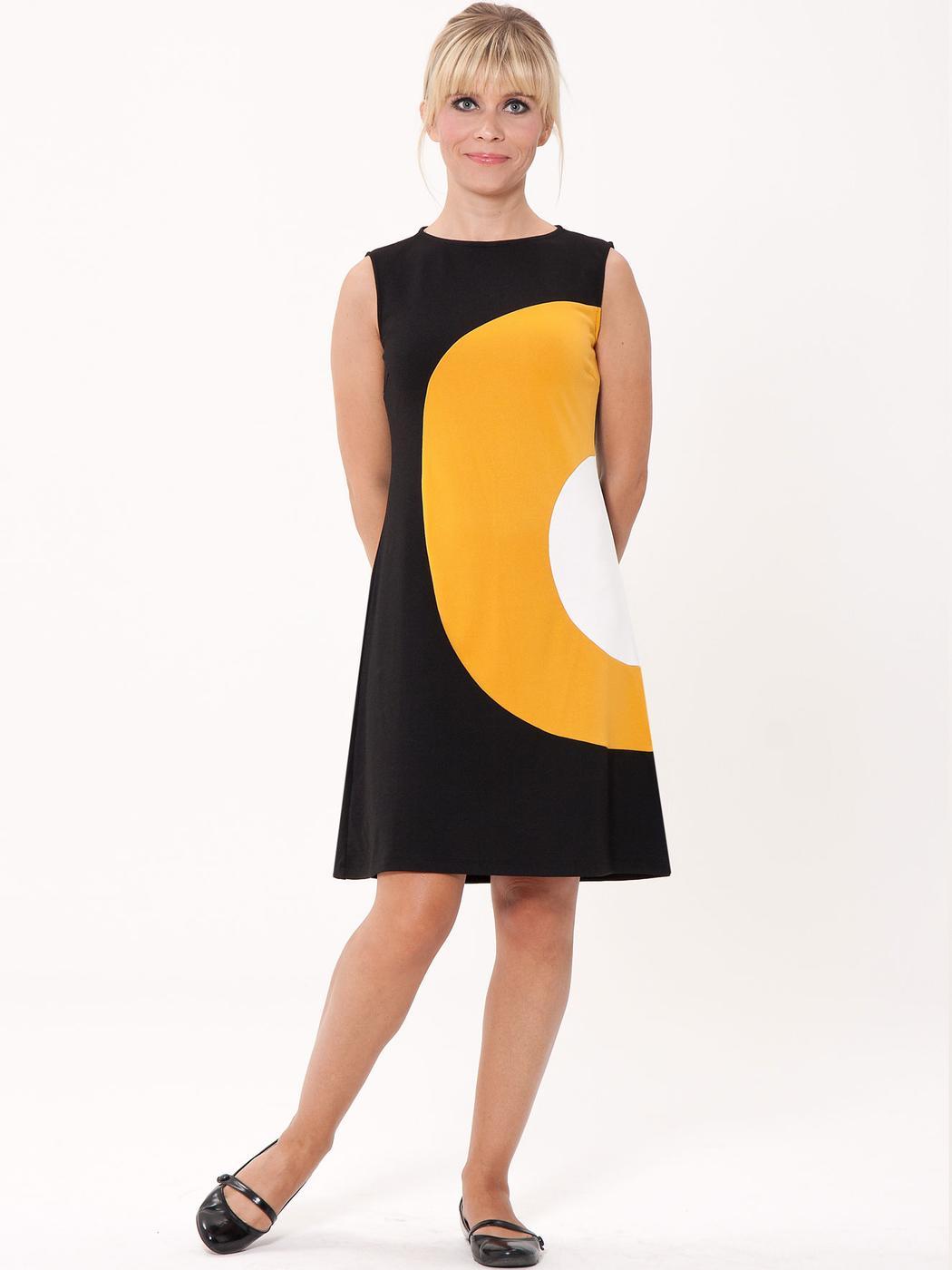 mademoiselle yeye peggy retro 60s mod target a line dress