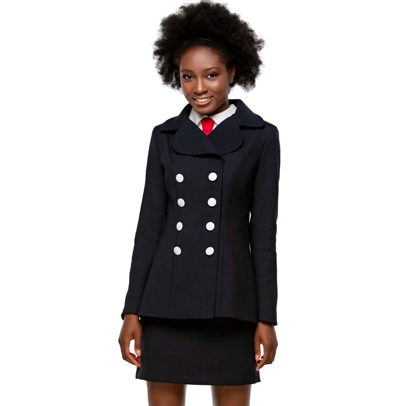 MARMALADE Autumn Round collar 1960s Mod Jacket