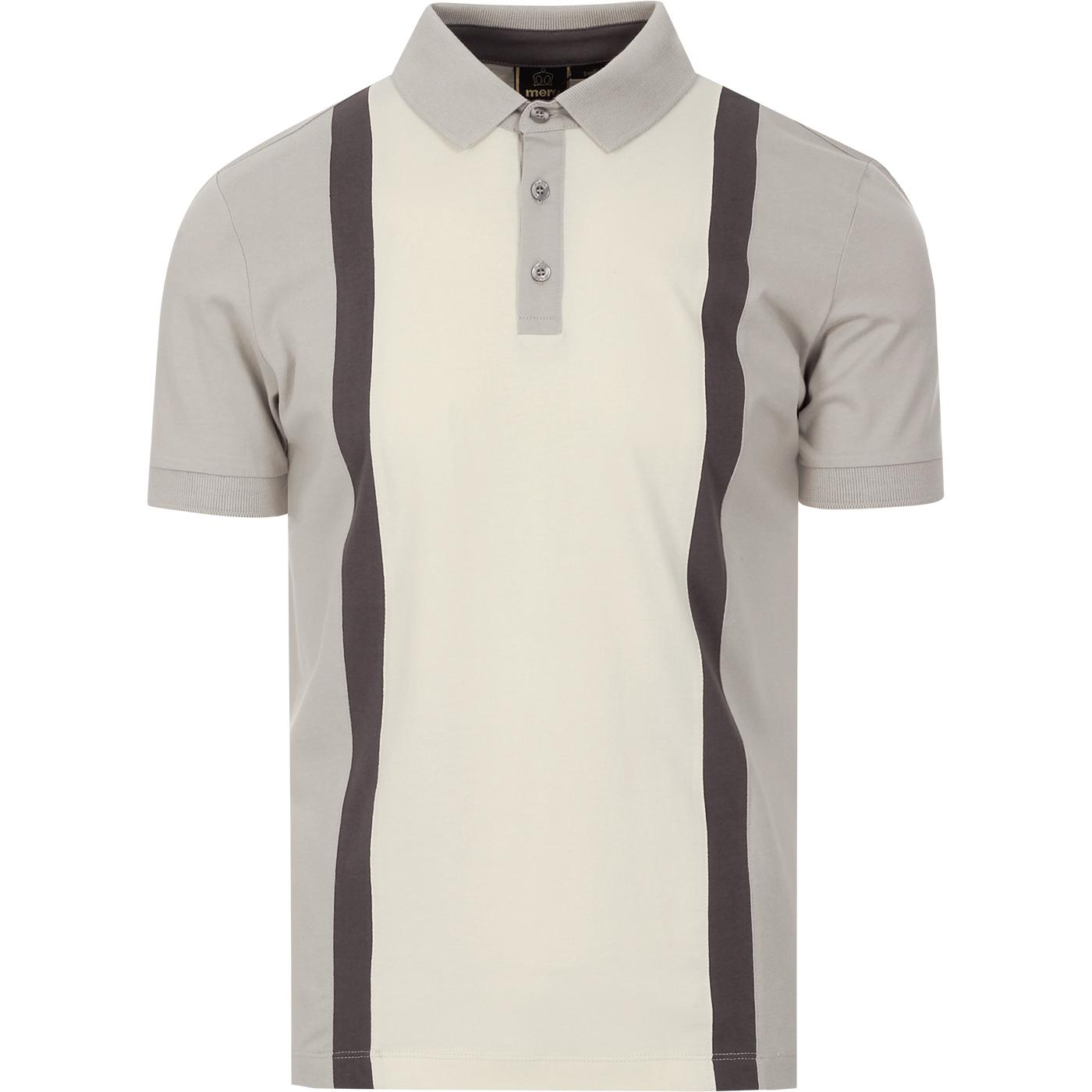Atlas MERC Mod Stripe Block Panel Polo Top (LG)