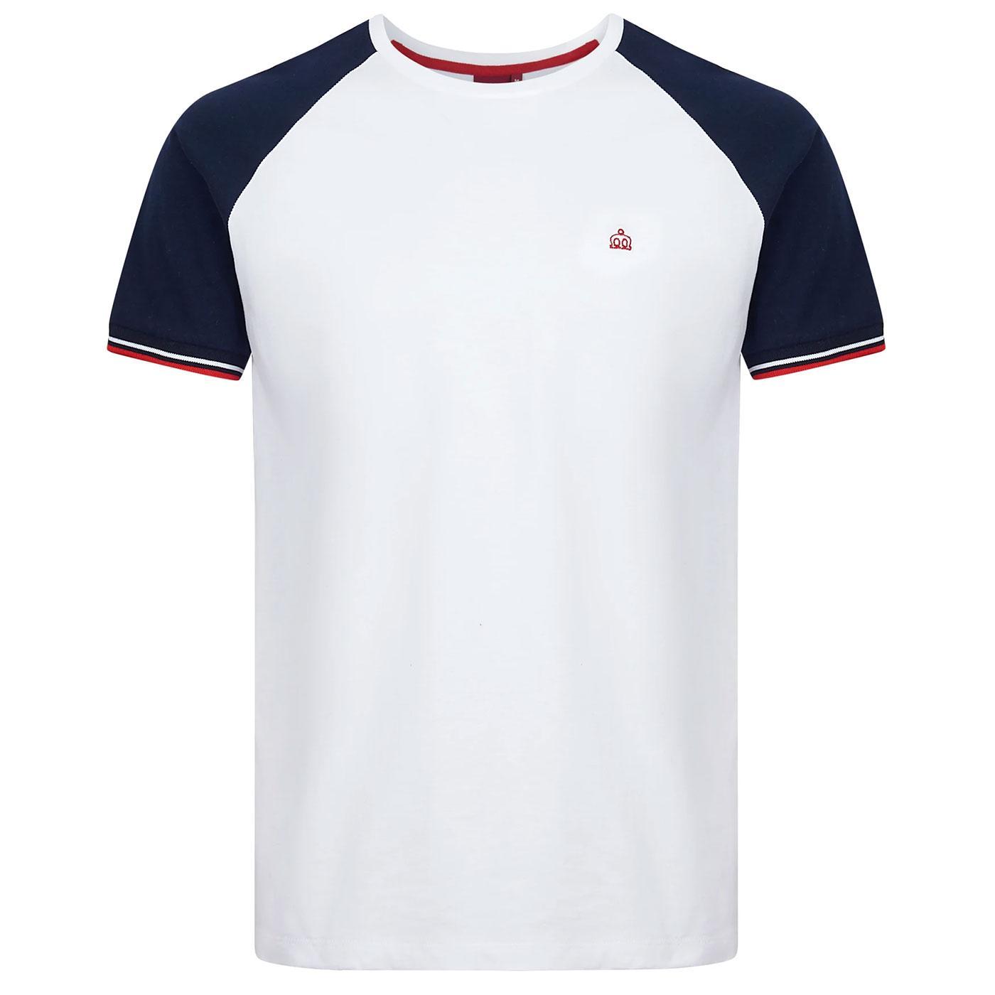 Chartwell MERC Mens Retro Raglan Sleeve T-Shirt