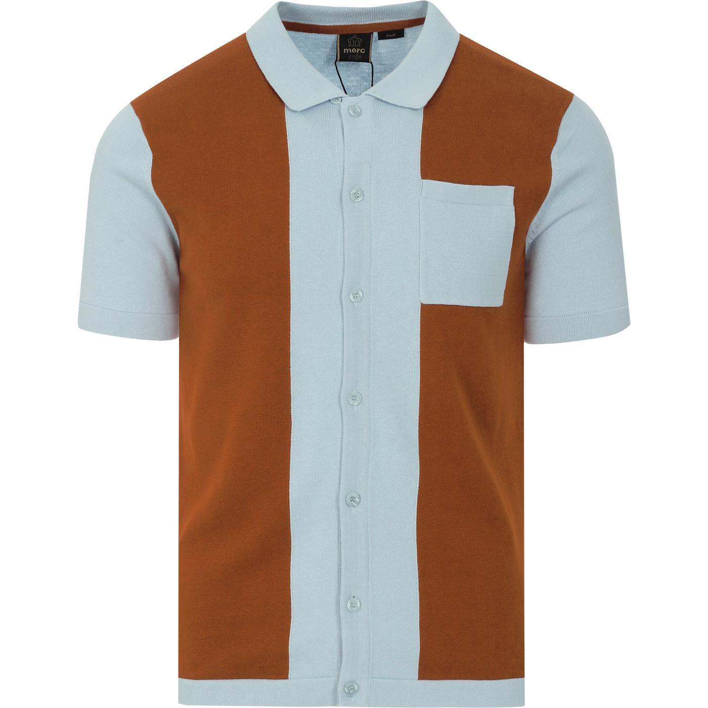 Conduit MERC Mod Panel Knit Pocket Polo Cardigan