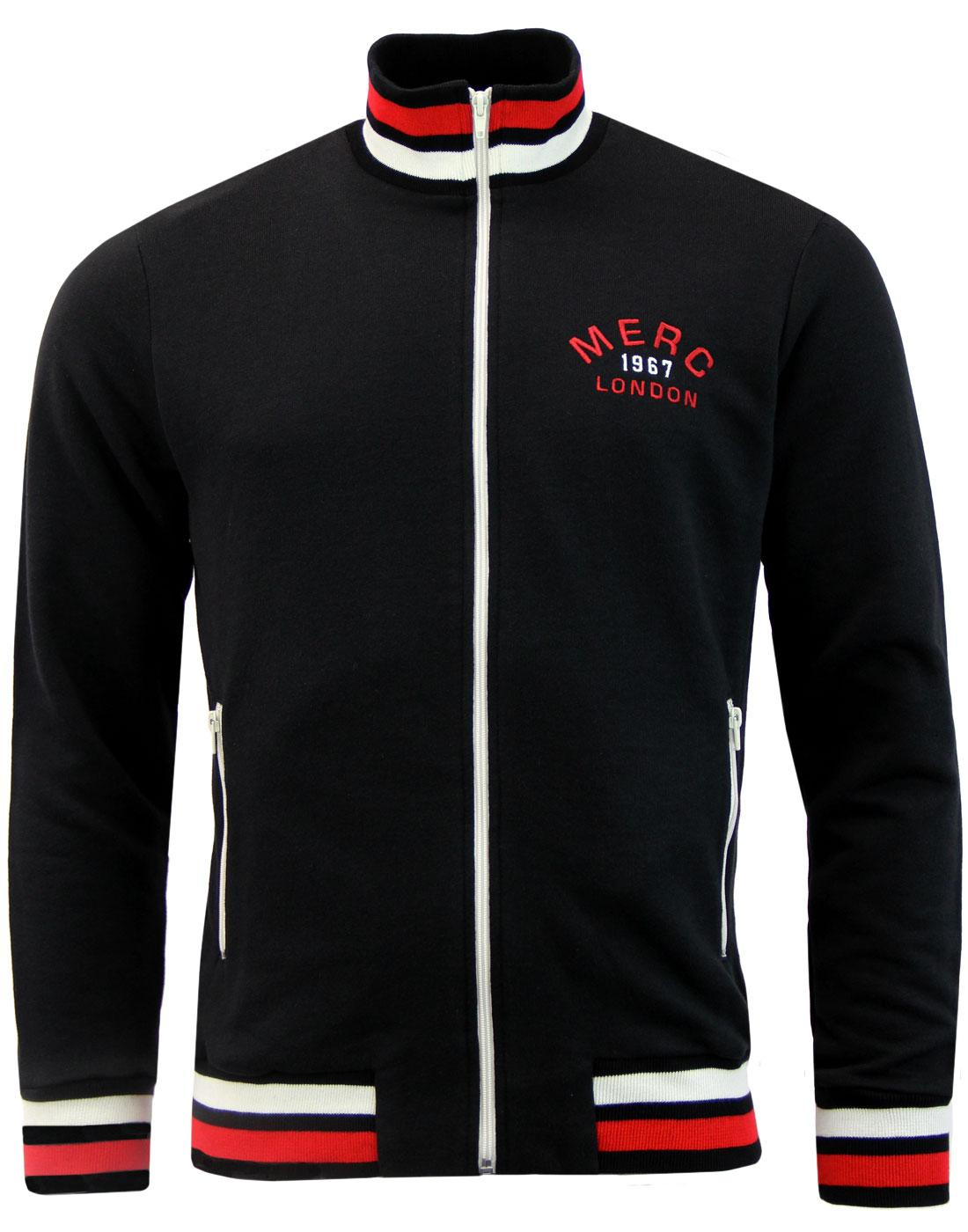 Dittmer MERC Retro Archive Funnel Neck Track Top