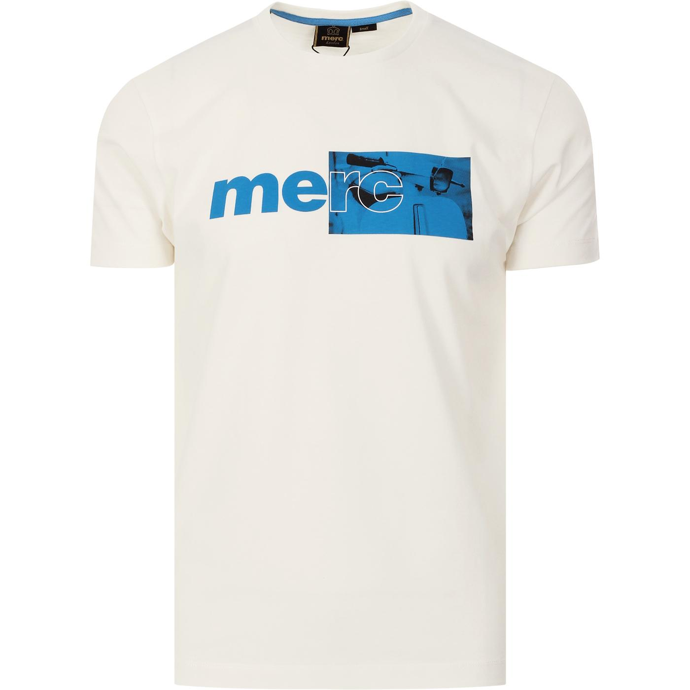 Fanshaw MERC Mod Scooter Logo T-shirt (Off White)