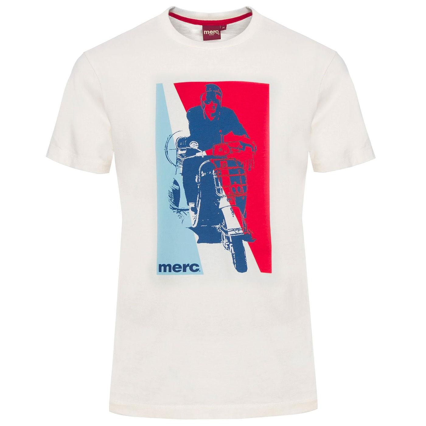 Glynde MERC Retro 60s Scooter Graphic T-Shirt