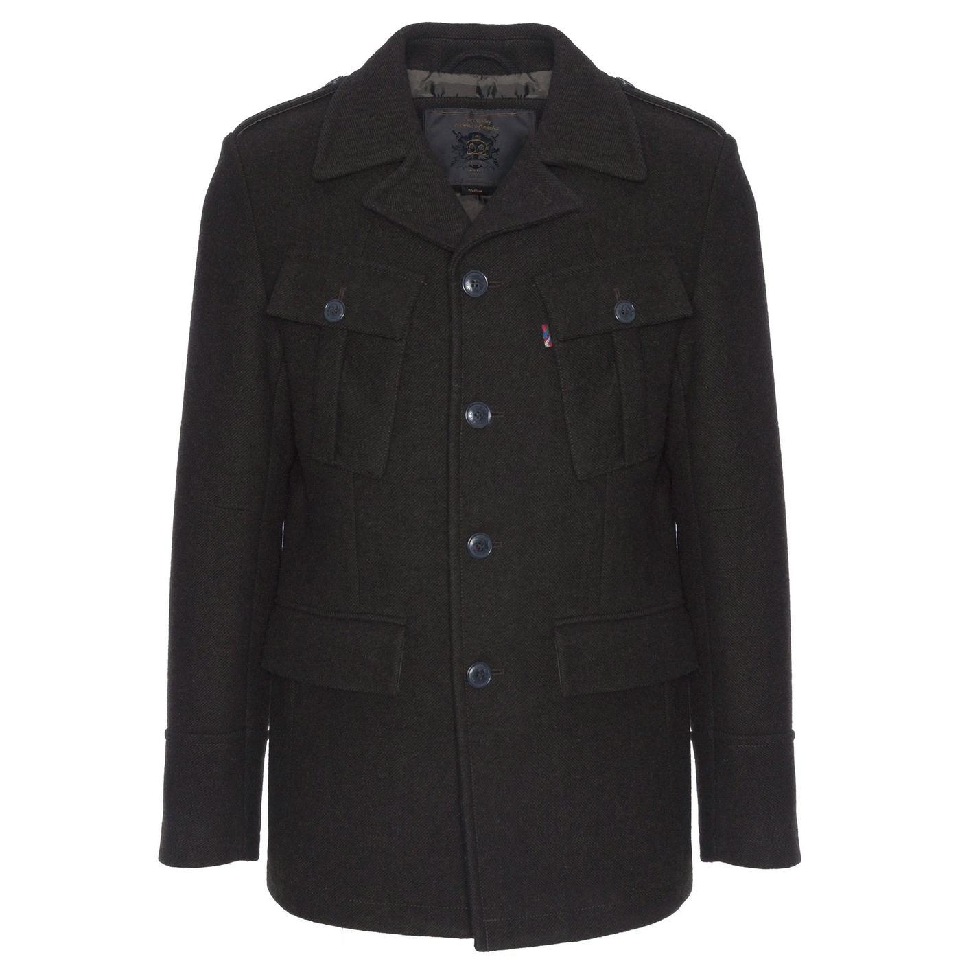 Haworth MERC Retro 60s Military Wool Field Jacket