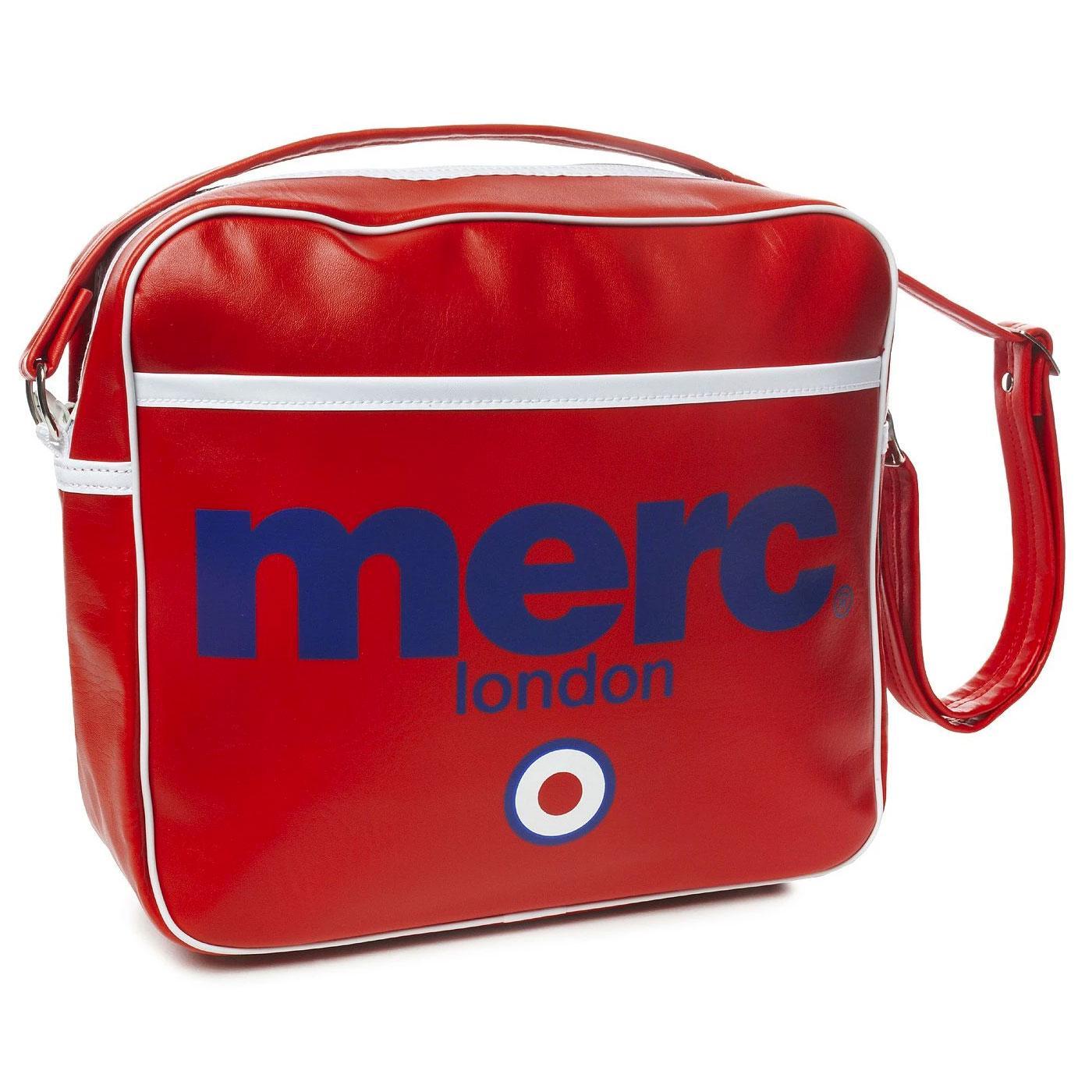 Airline MERC Retro Indie Mod Shoulder Flight Bag R