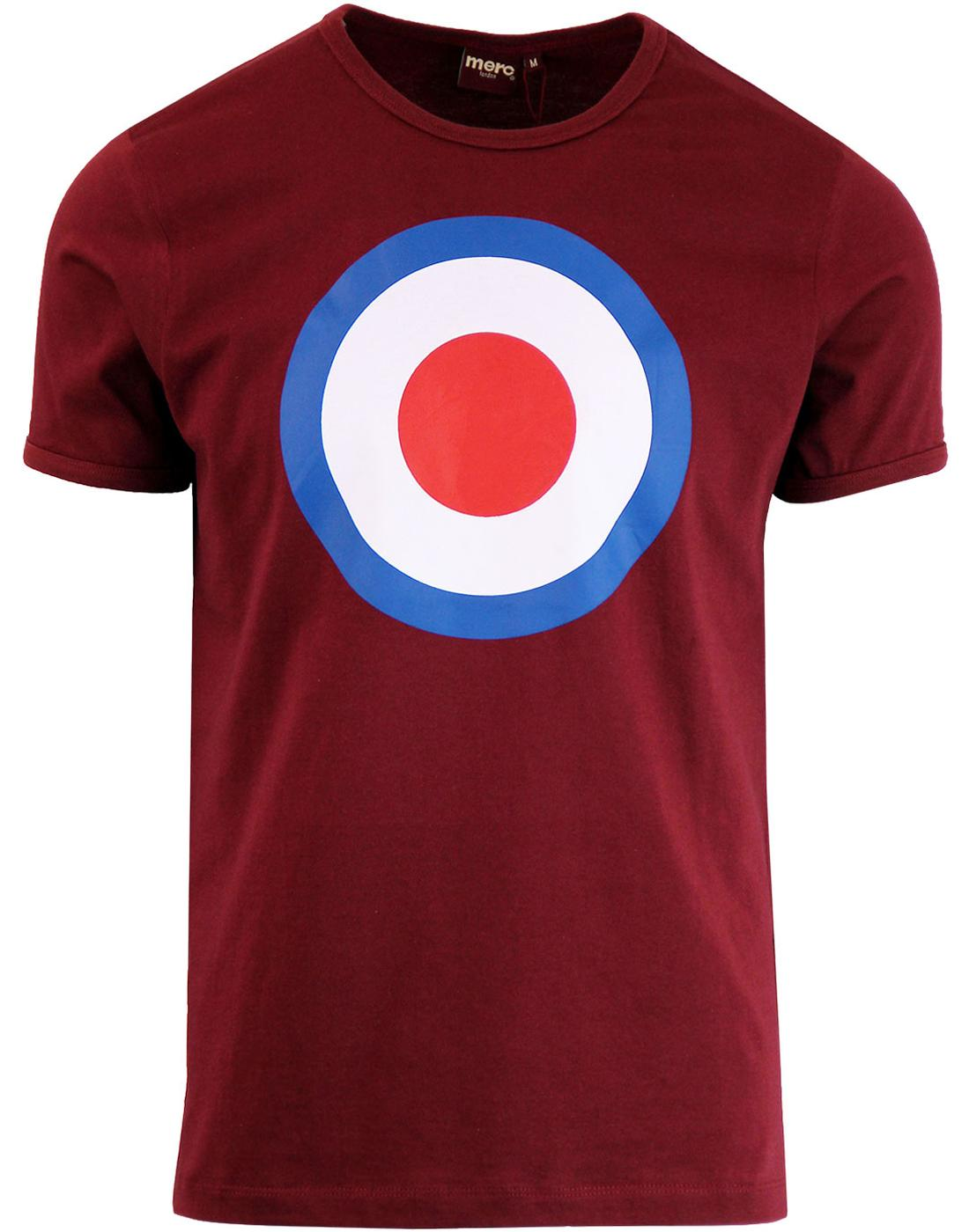 Ticket MERC Men's Mod Target Retro Pop Art Tee BU