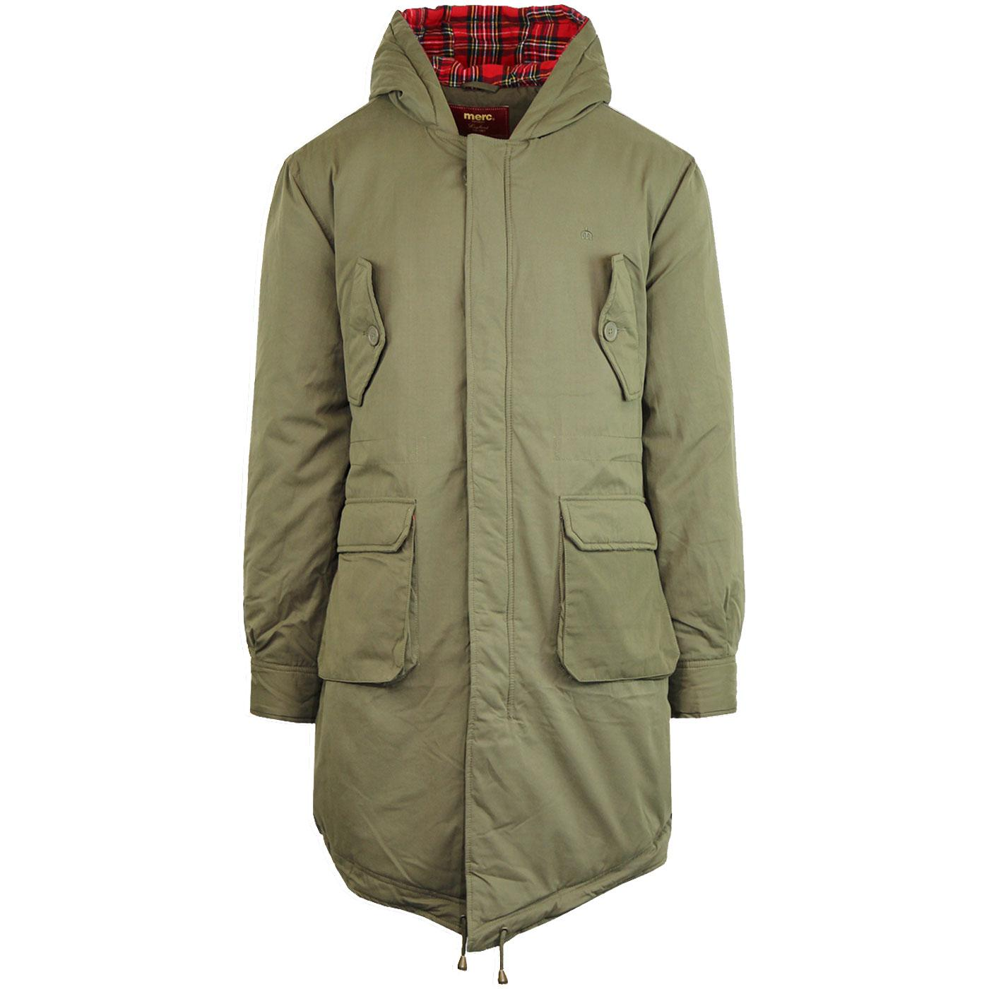 Tobias MERC Retro Sixties Mod Fishtail Parka Coat