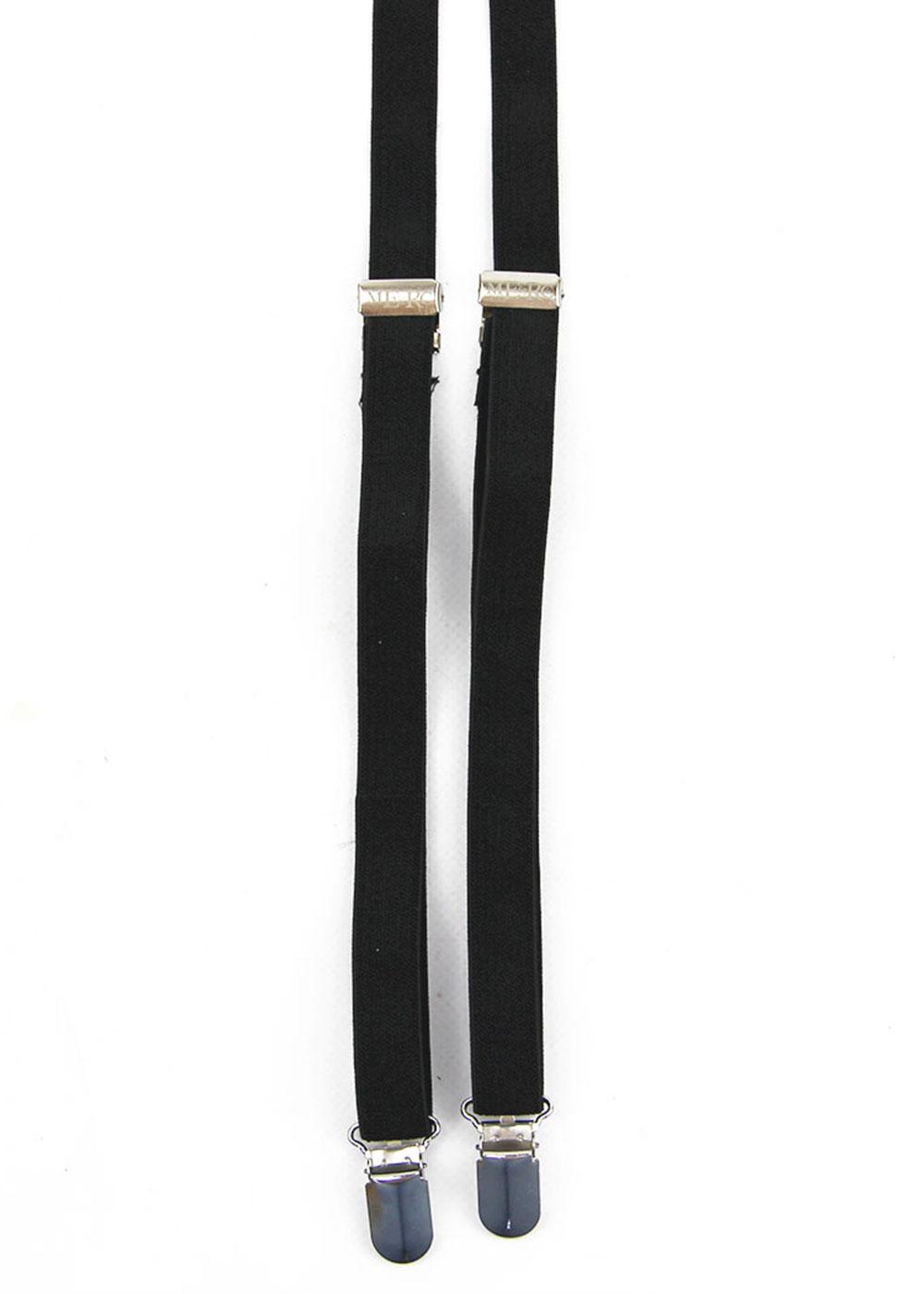 Drace MERC Retro Mod Skinny Braces (Black)