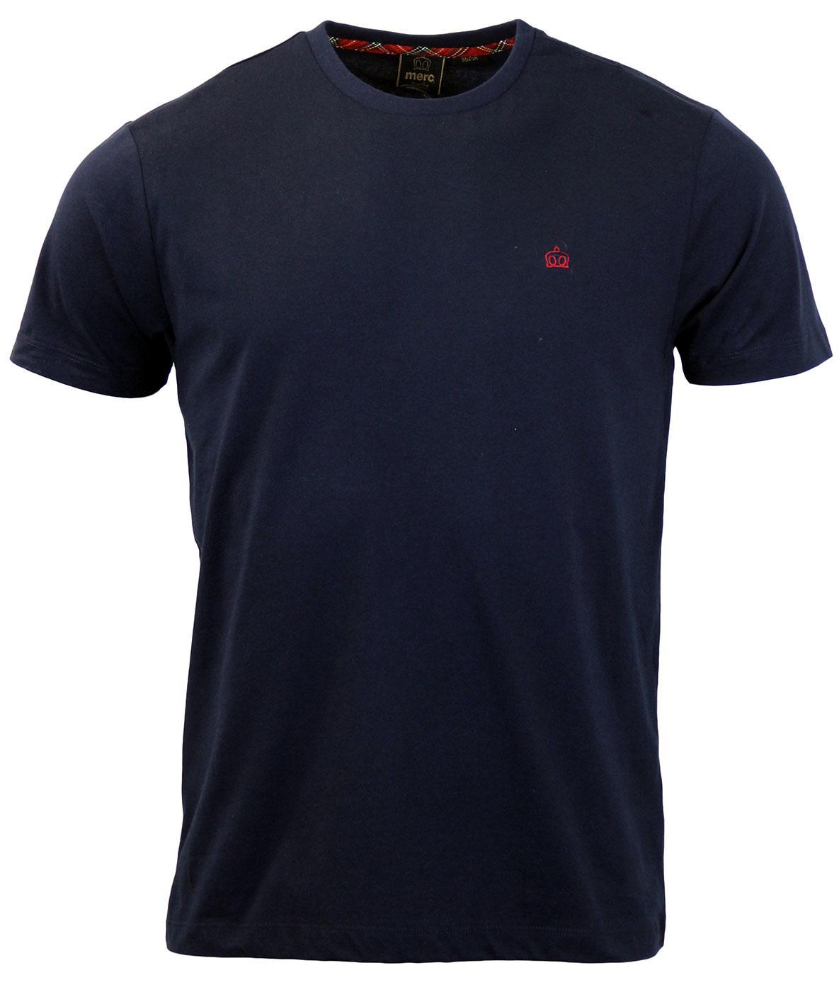 Keyport MERC Retro Mod Plain Crew Neck T-Shirt N
